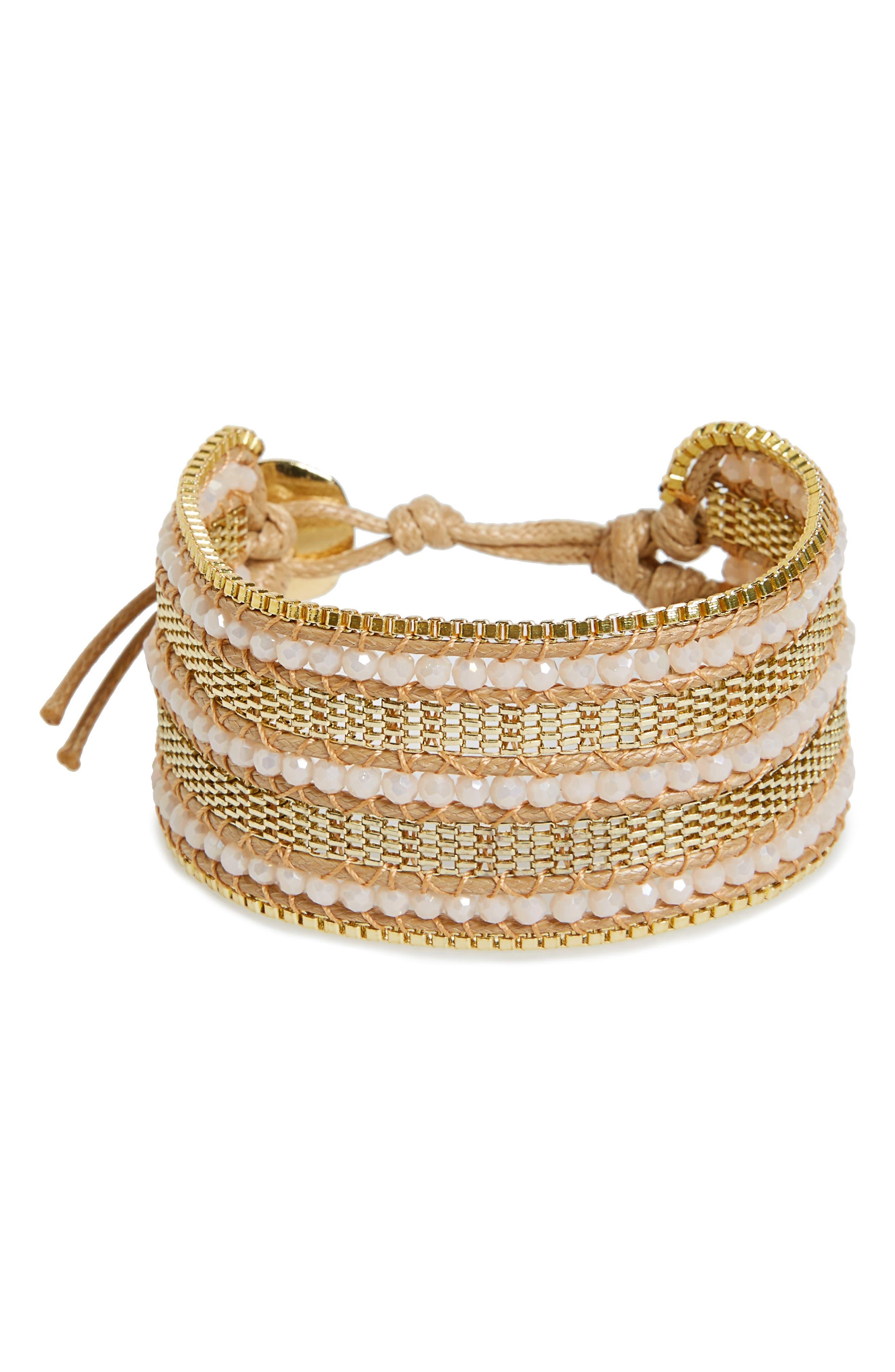 Panacea Crystal Chain Bracelet