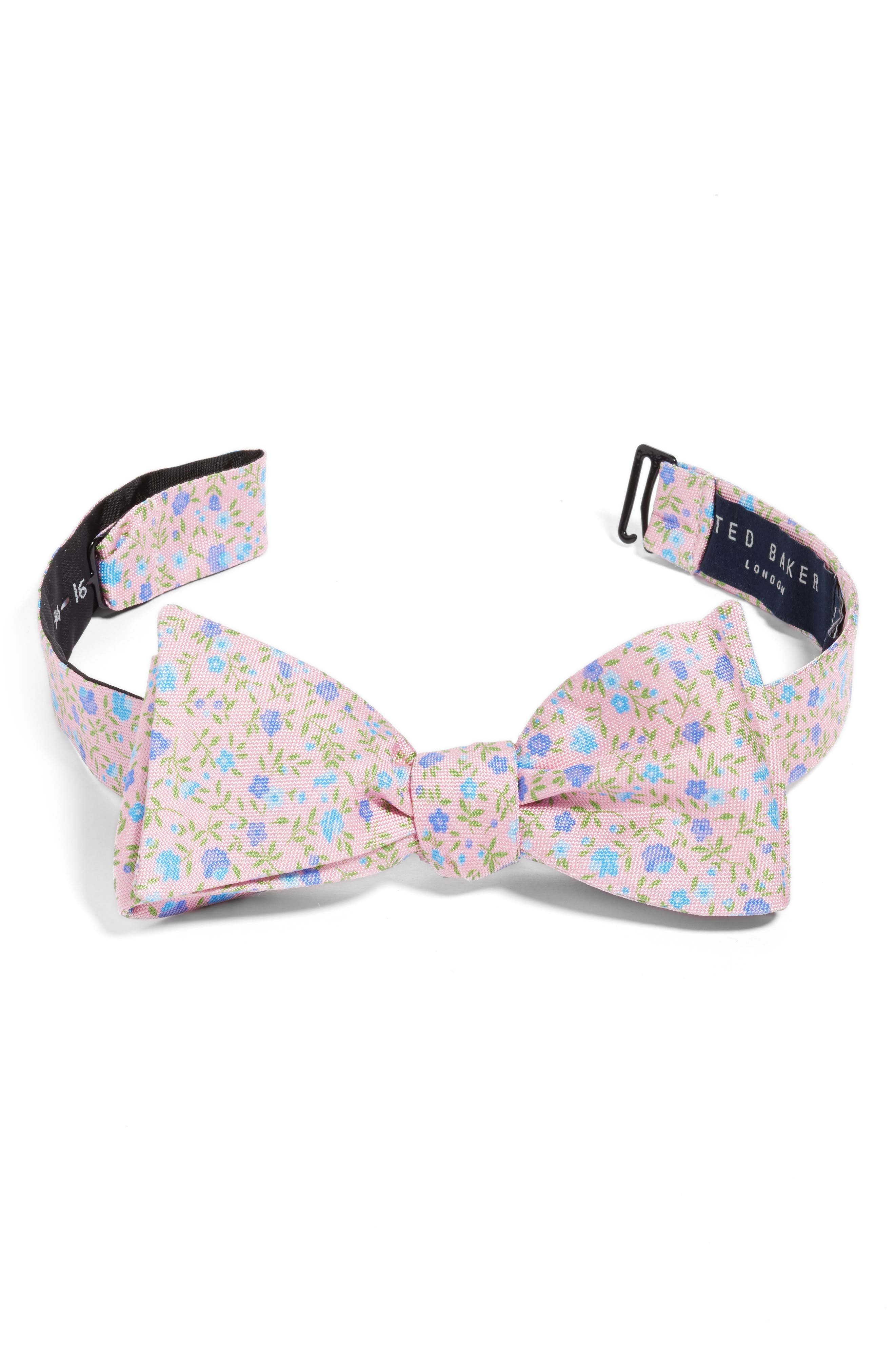 Ted Baker London Floral Silk Bow Tie