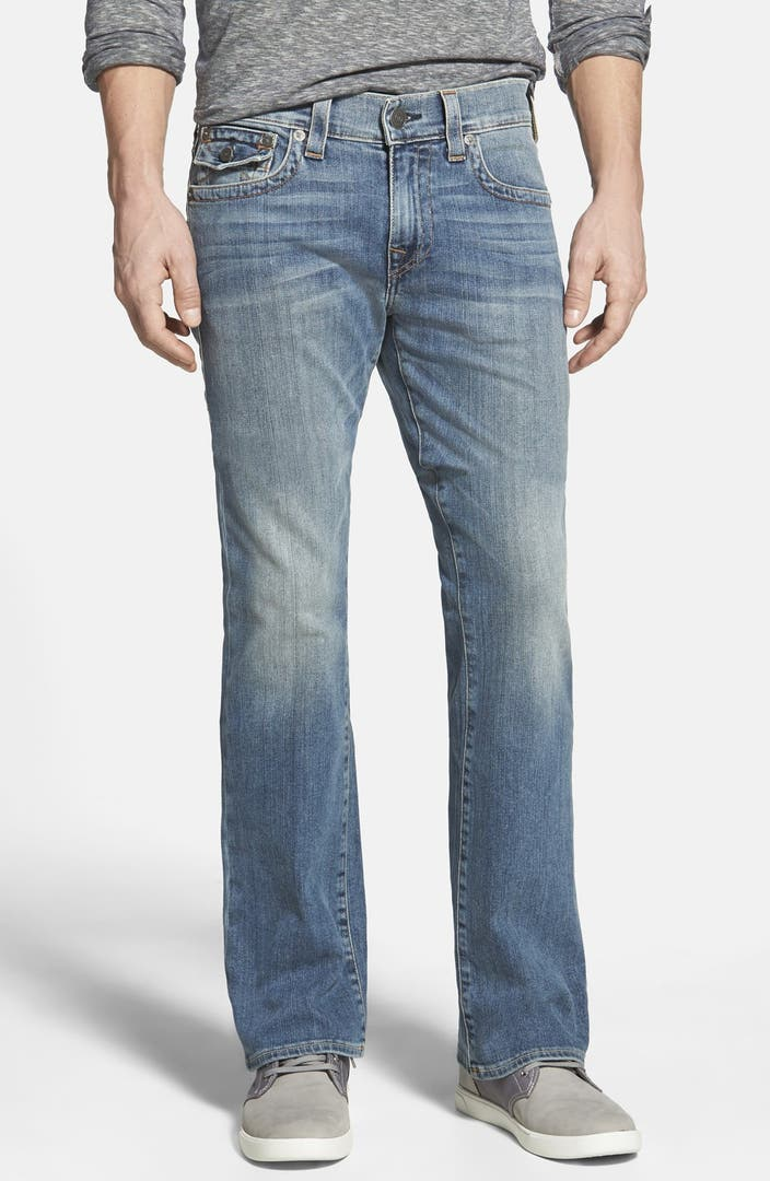 true religion brand jeans 39 billy 39 relaxed bootcut jeans. Black Bedroom Furniture Sets. Home Design Ideas