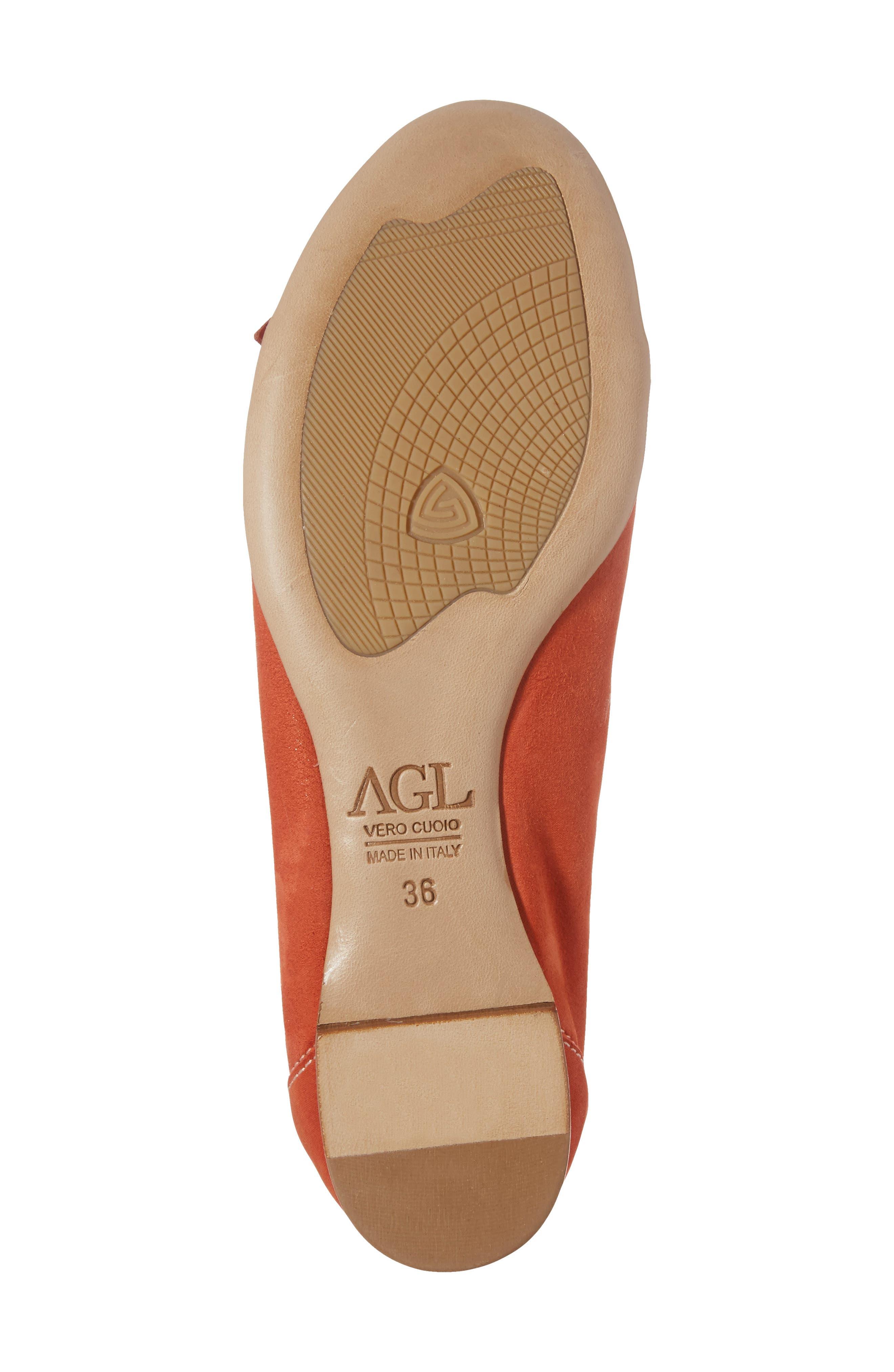 Alternate Image 6  - AGL Cap Toe Ballet Flat (Women)