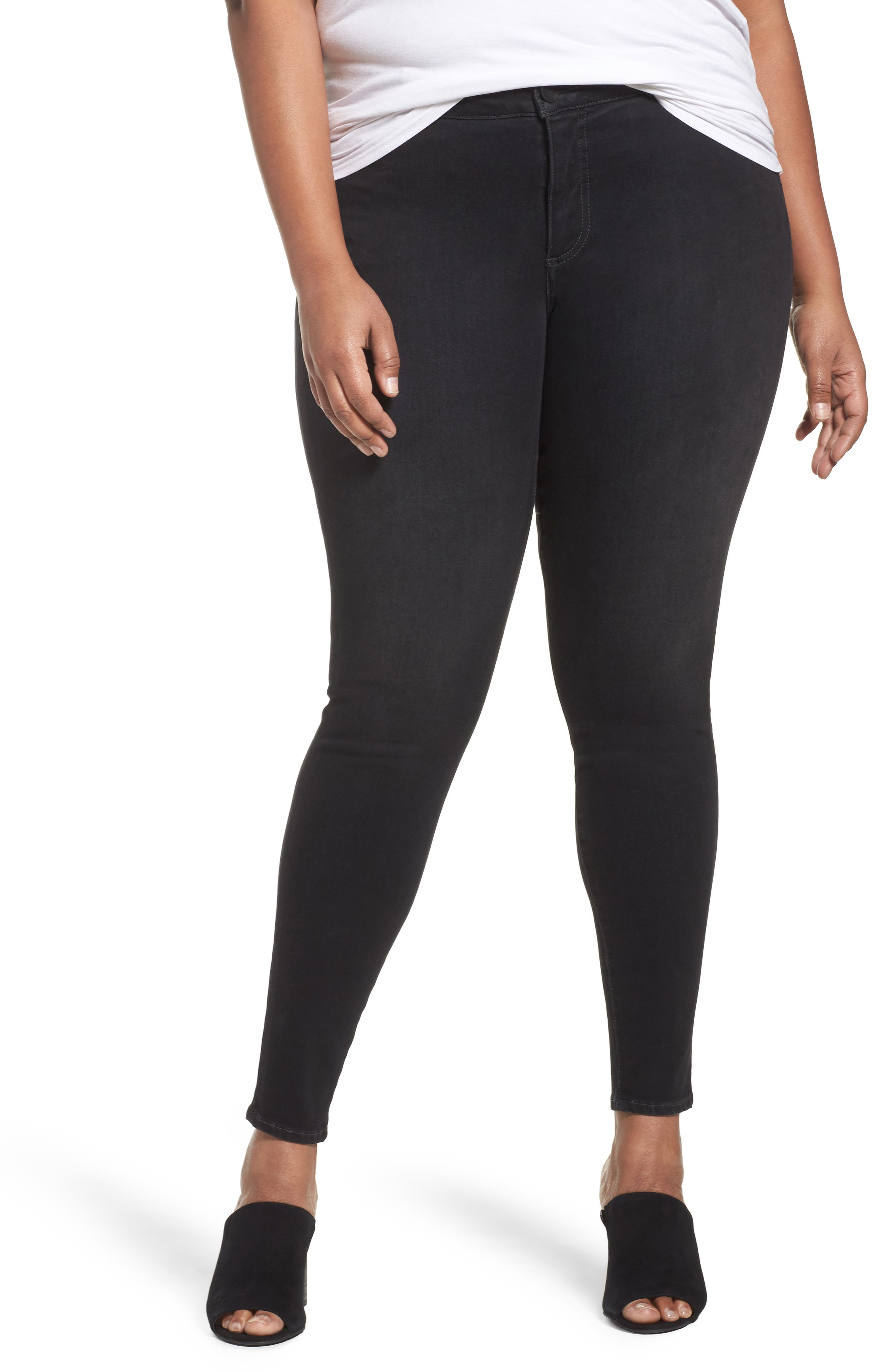 KUT from the Kloth Donna Stretch Skinny Jeans (Perseverant) (Plus Size)