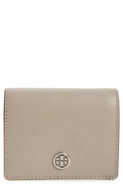 Tory Burch Parker Foldable Mini Leather Wallet