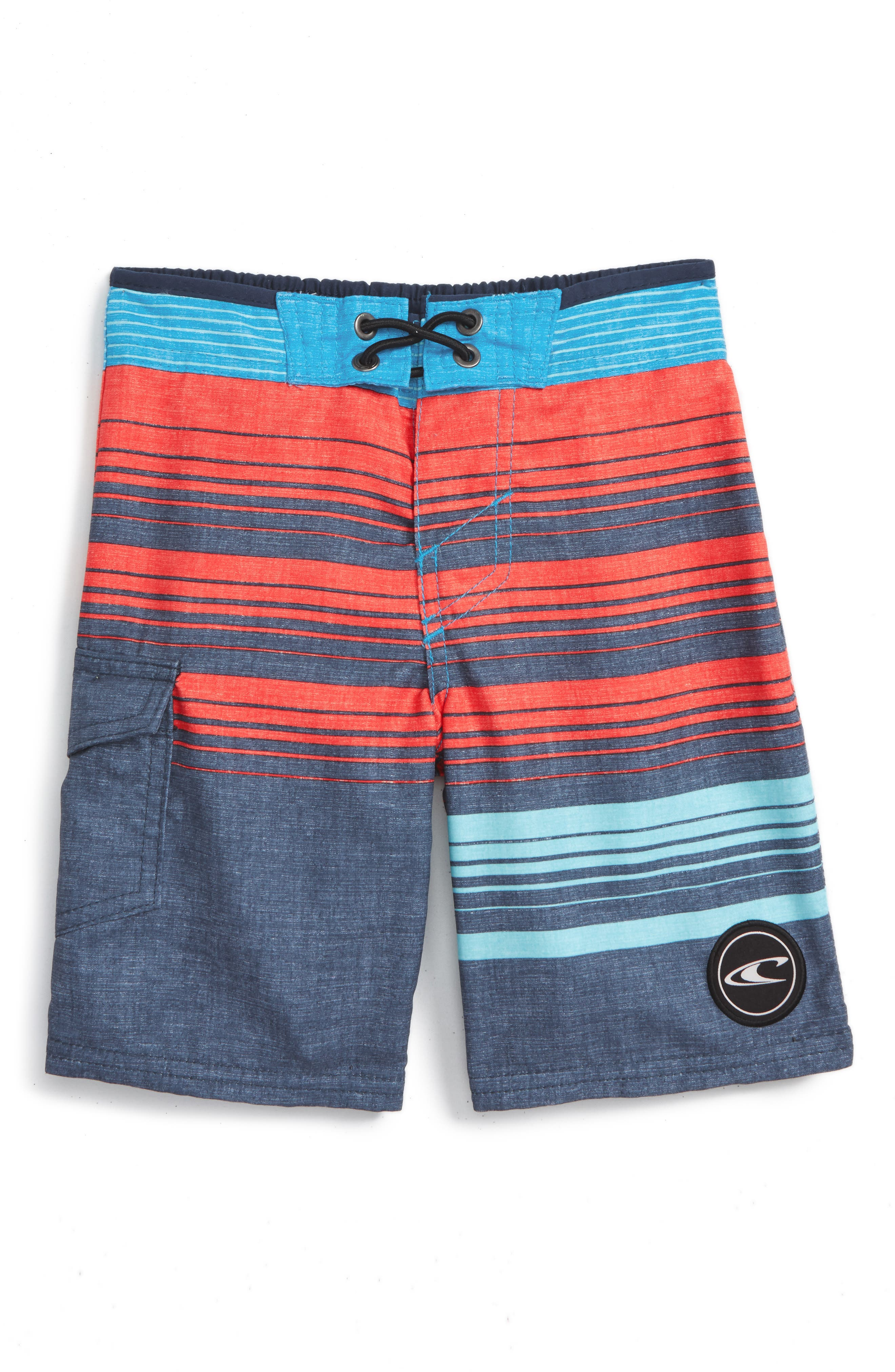 O'Neill Lennox Stripe Board Shorts (Big Boys)