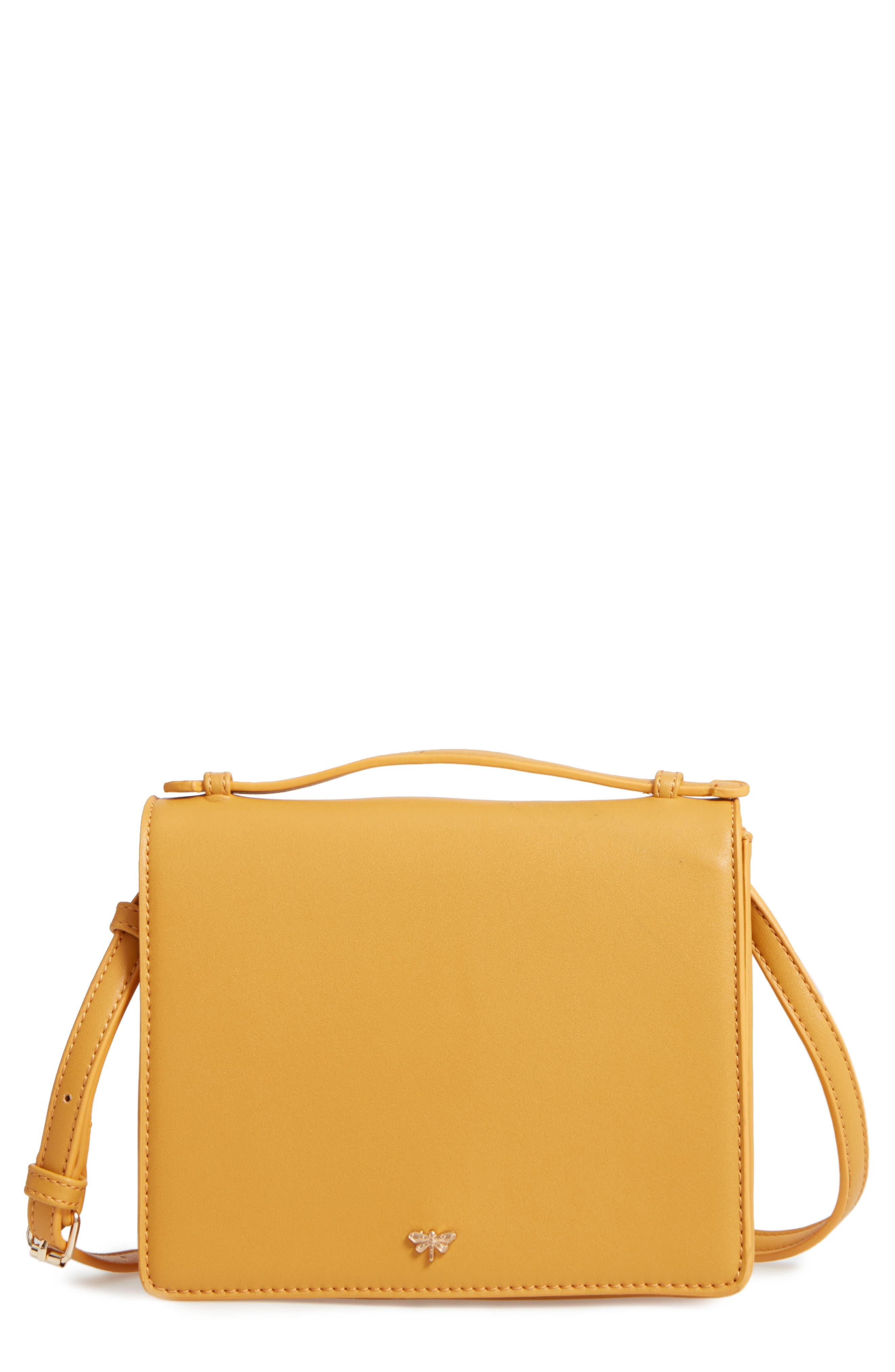 BP. Faux Leather Crossbody Bag