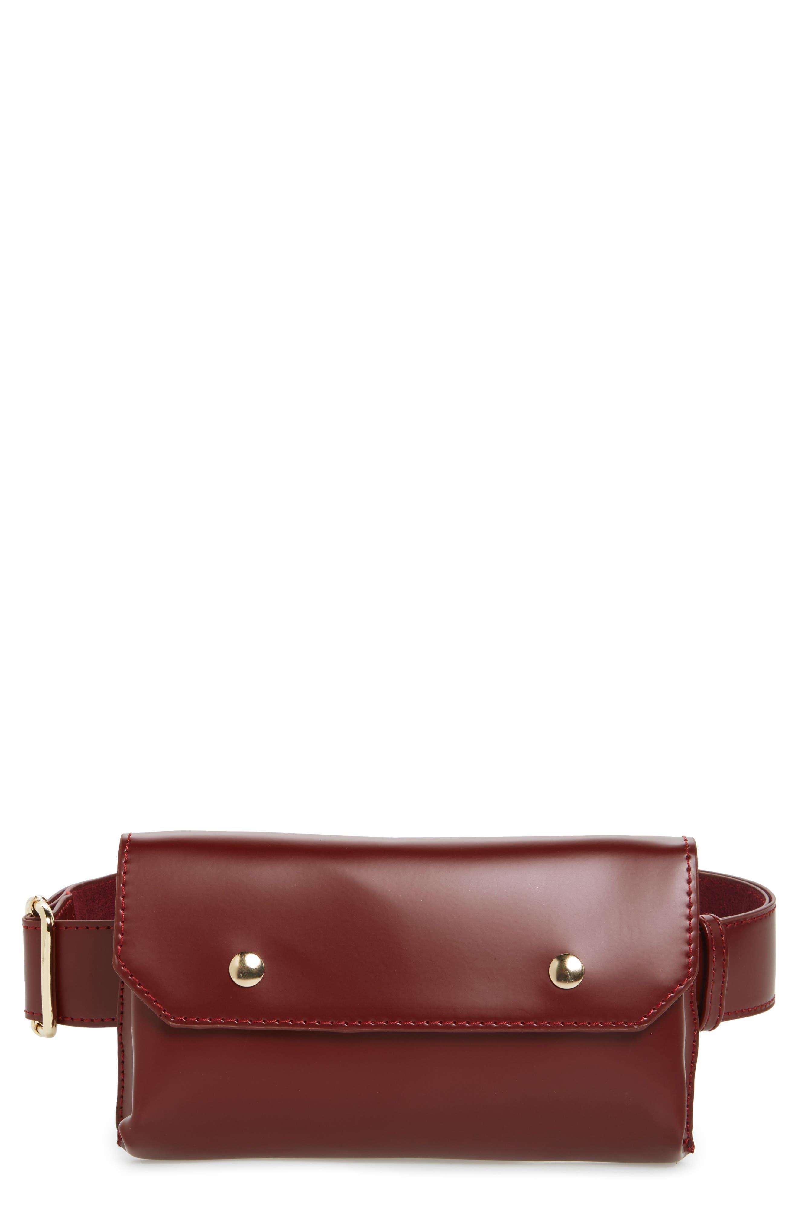 BP. Faux Leather Belt Bag