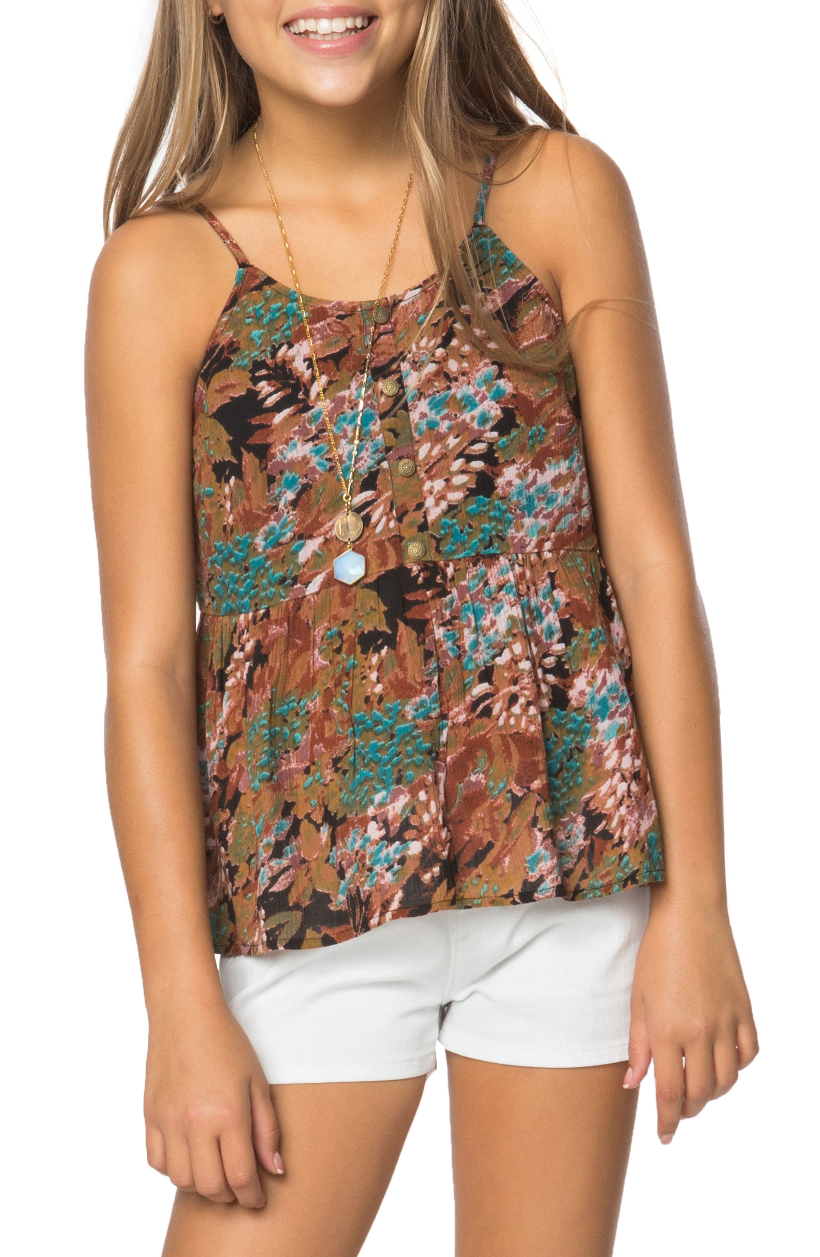 O'Neill Salinas Print Tank (Big Girls)