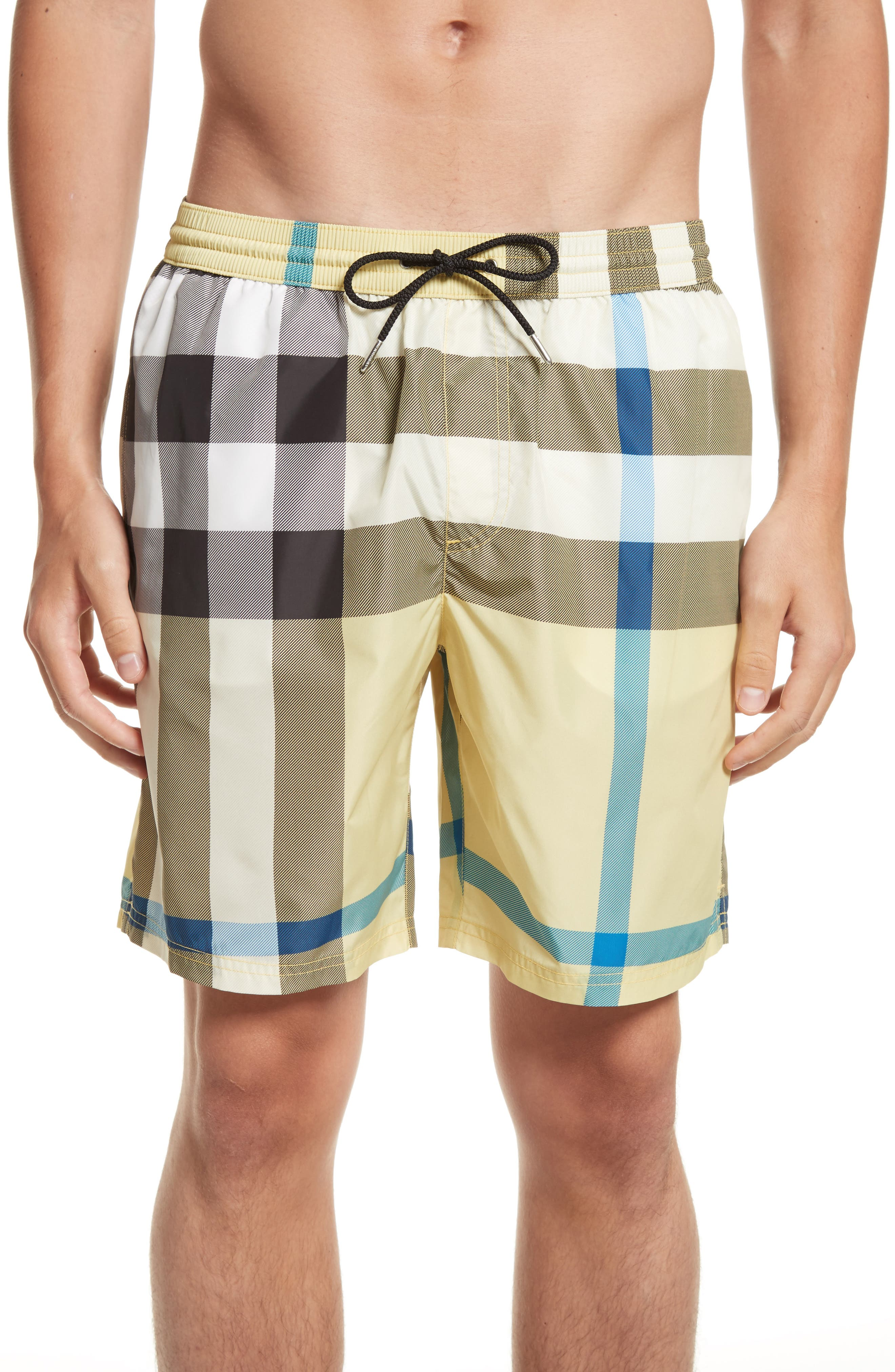 Burberry Gowers Absmk Swim Trunks