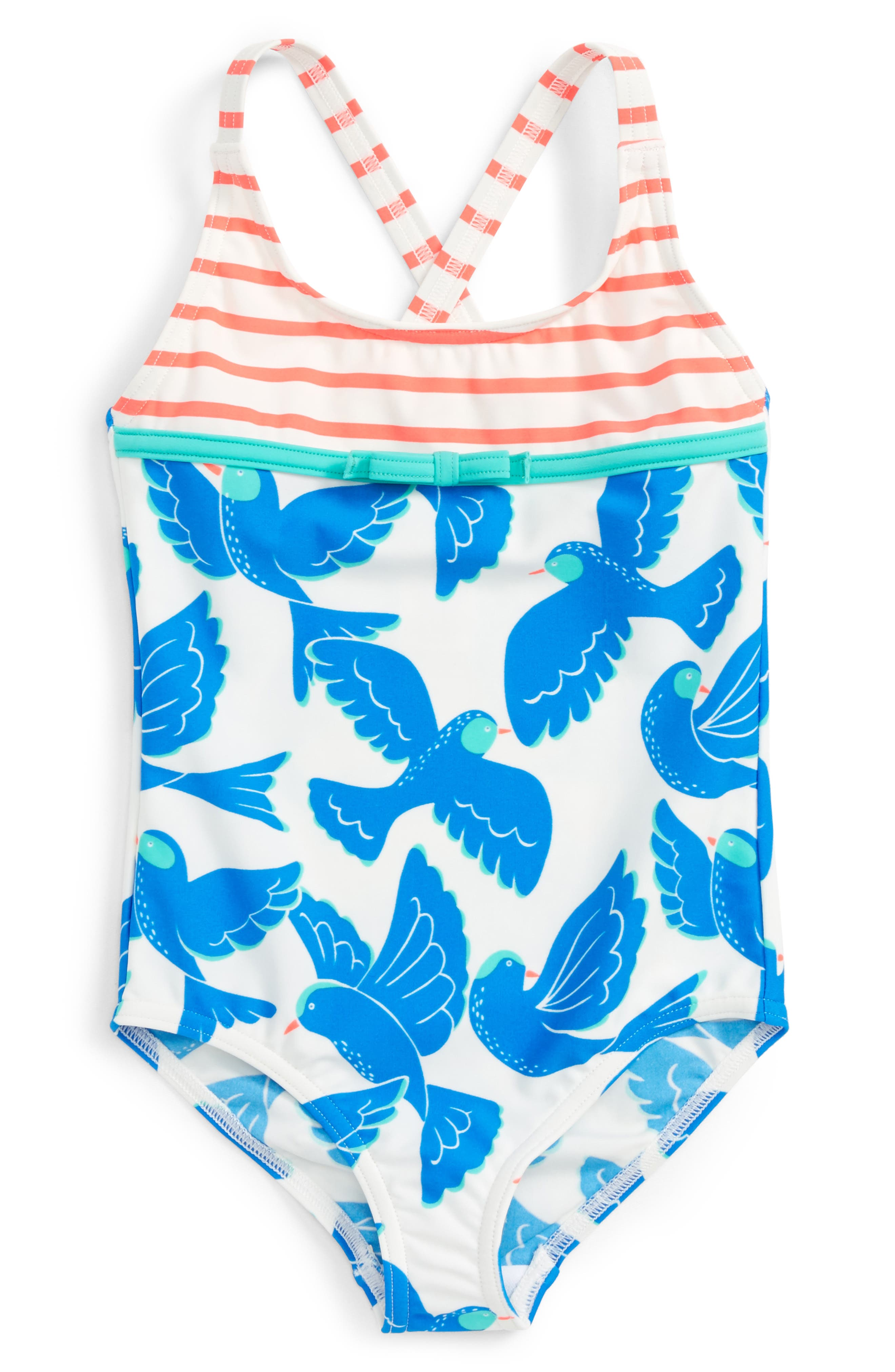 Mini Boden Hotchpotch One-Piece Swimsuit (Toddler Girls, Little Girls & Big Girls)