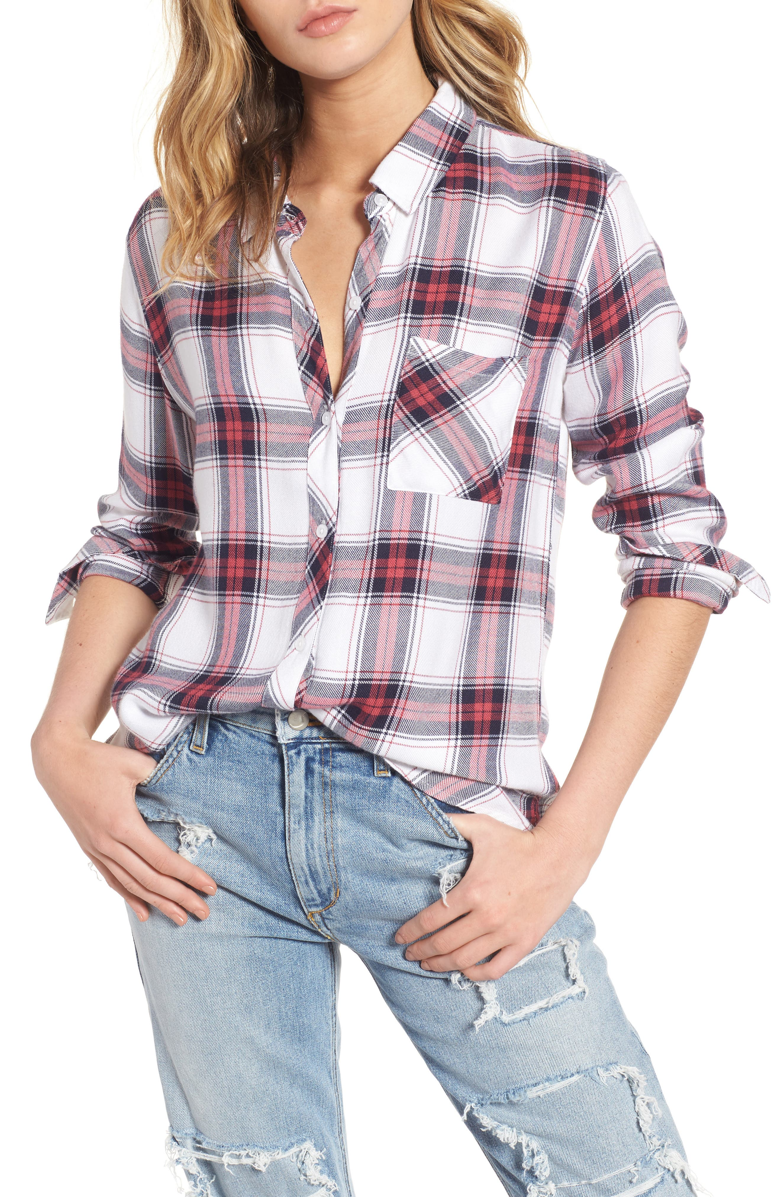 Alternate Image 1 Selected - Rails Hunter Plaid Shirt