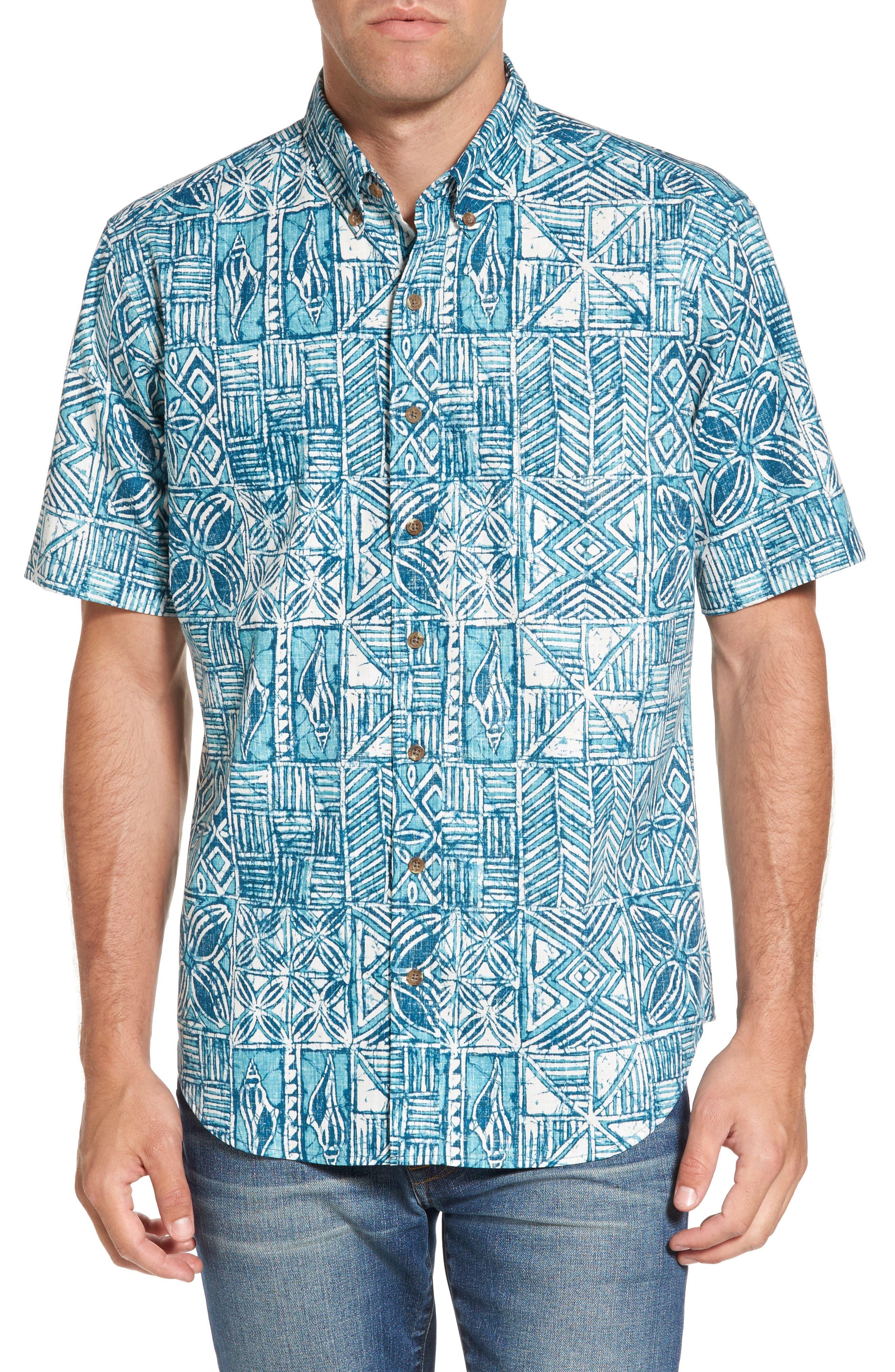 Reyn Spooner Leho Kapa Classic Fit Sport Shirt