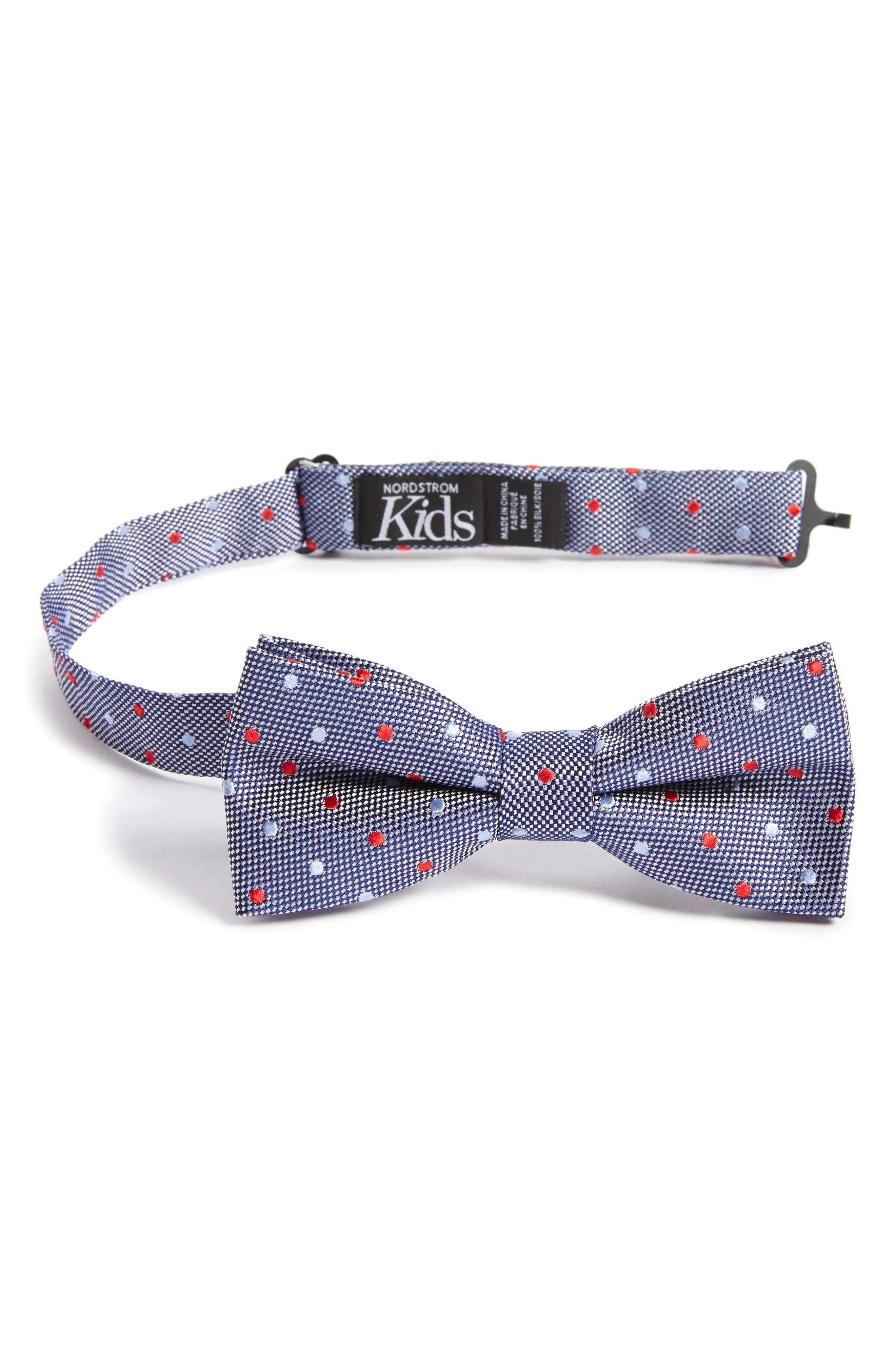 Nordstrom Dot Silk Bow Tie (Boys)