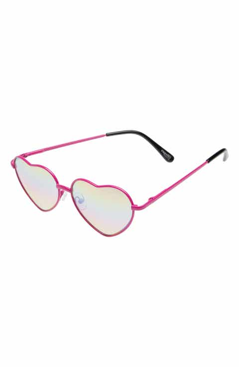Capelli of New York Heart Sunglasses (Girls)