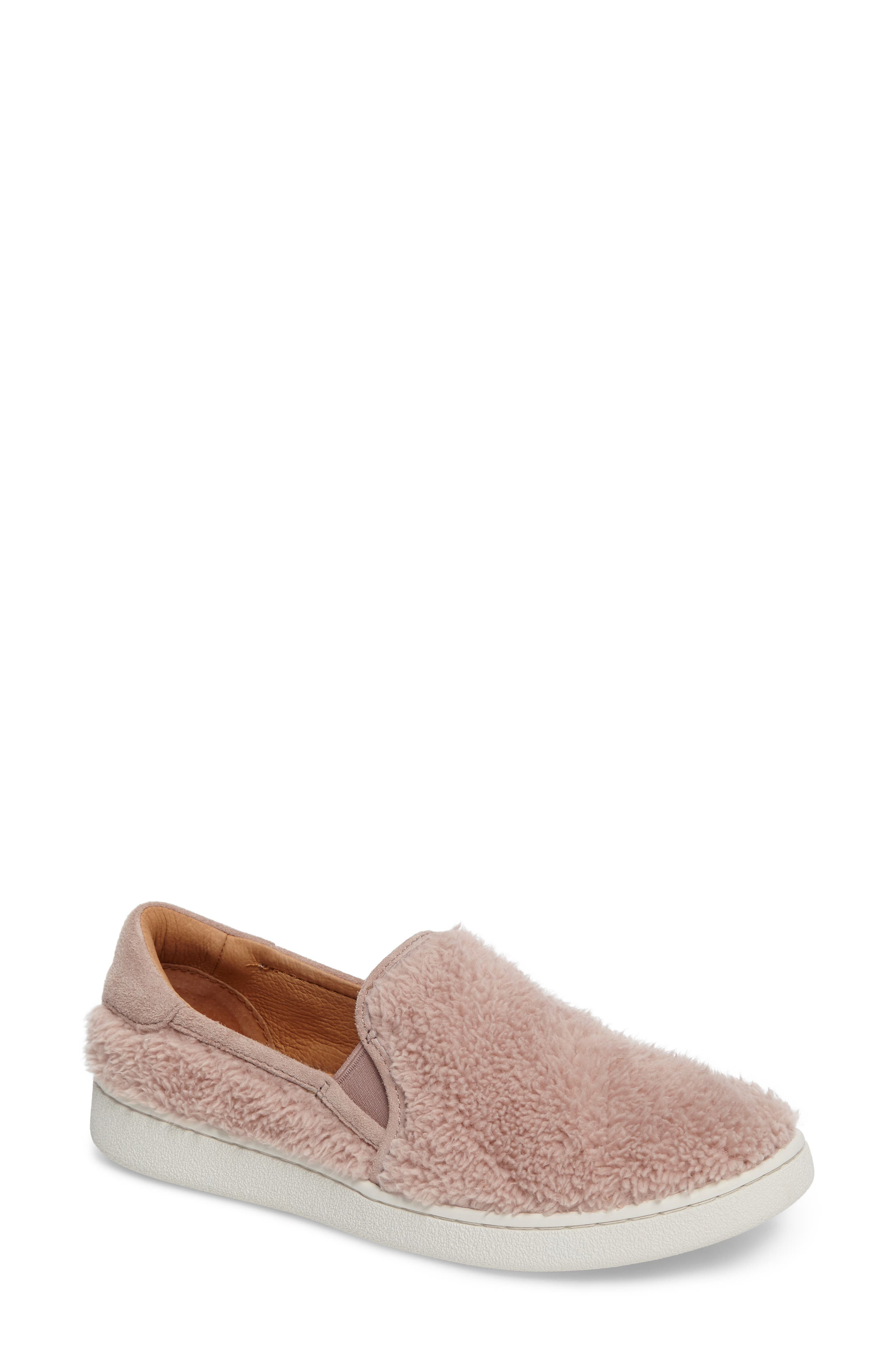 UGG® Ricci Plush Slip-On Sneaker (Women)
