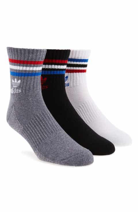 adidas 3-Pack Quarter Crew Socks