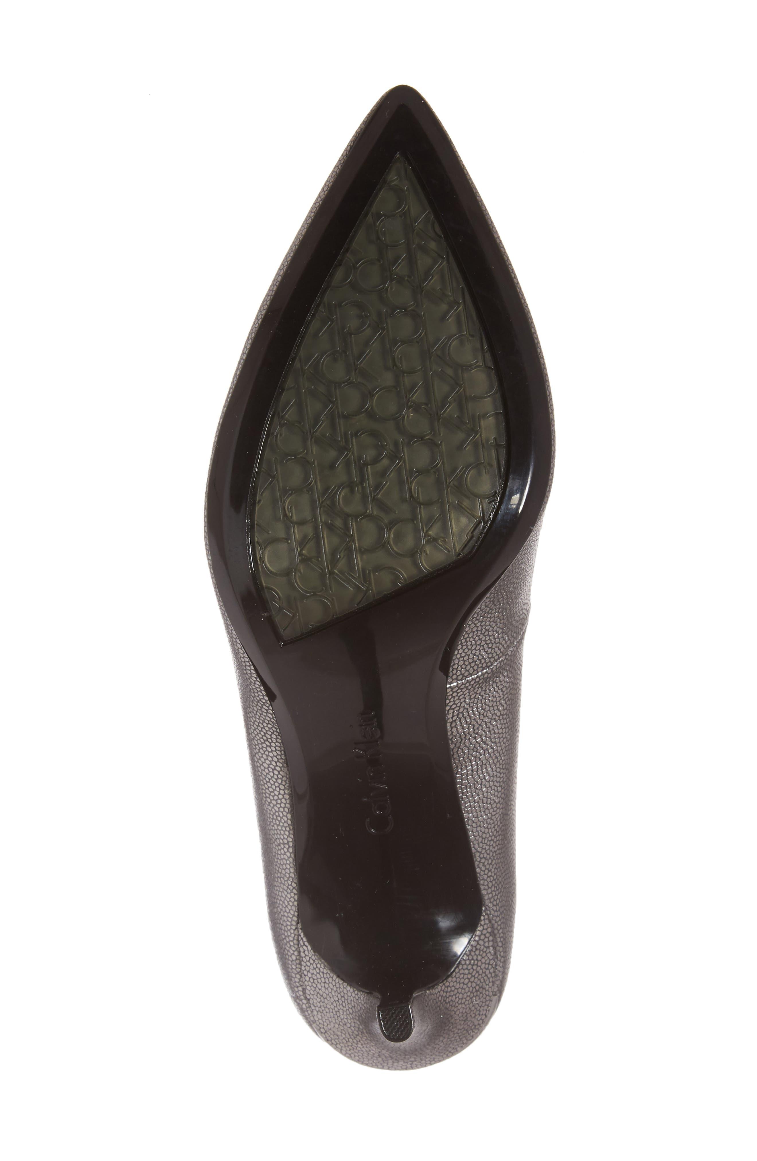 Alternate Image 6  - Calvin Klein 'Gayle' Pointy Toe Pump (Women)