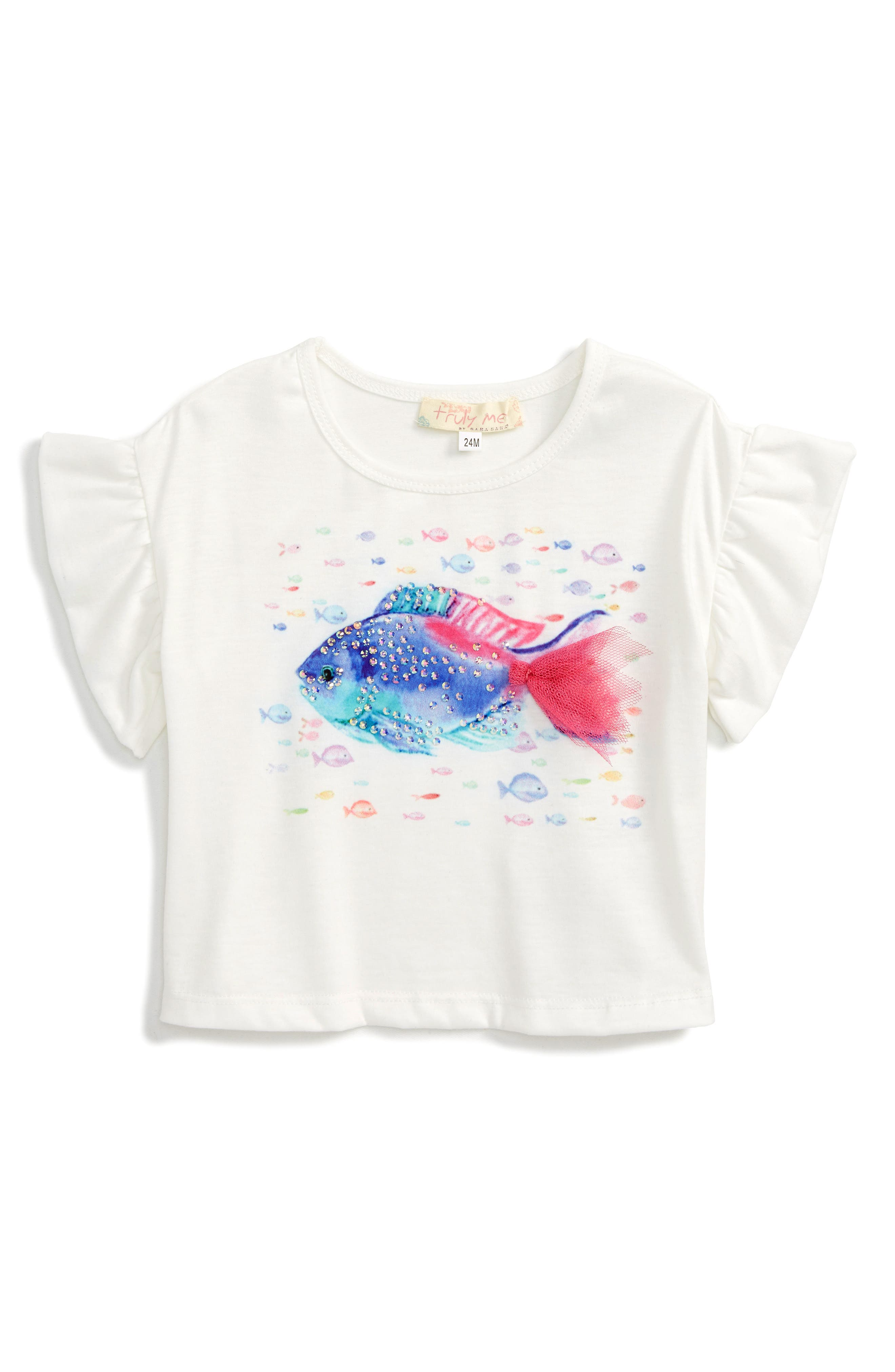 Truly Me Graphic Tee (Baby Girls)