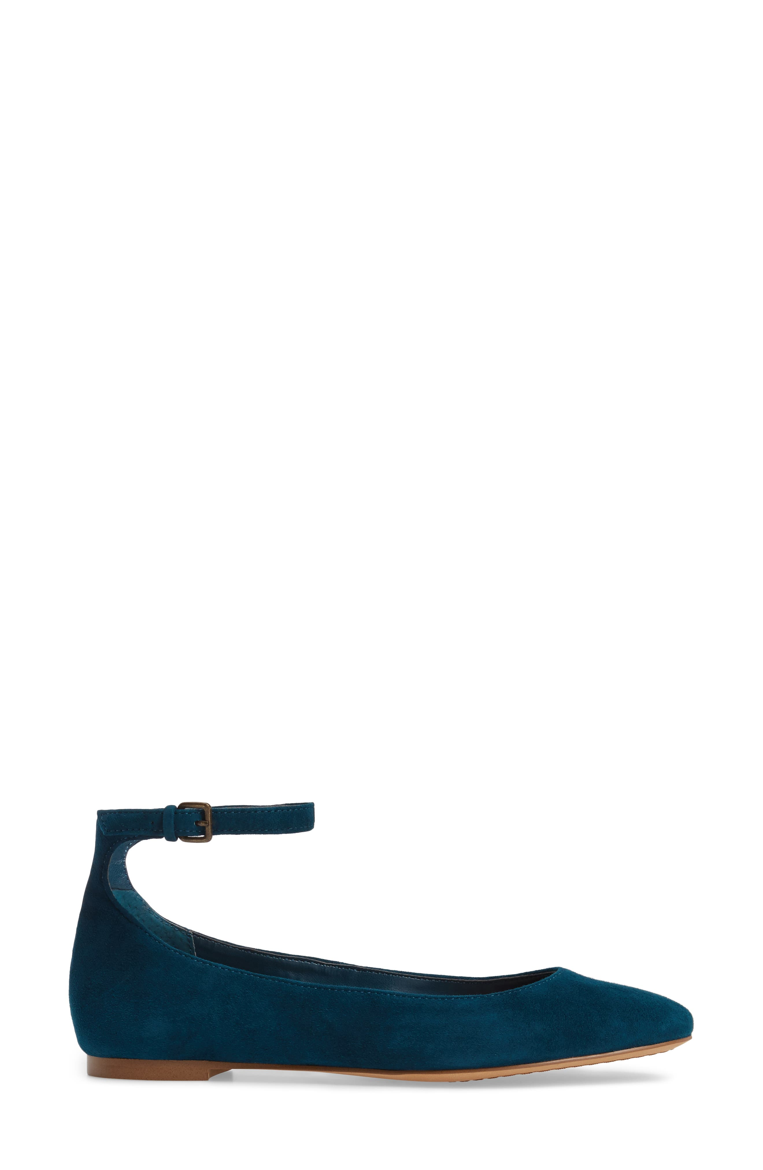Alternate Image 3  - Treasure & Bond Jules Ankle Strap Ballet Flat (Women)