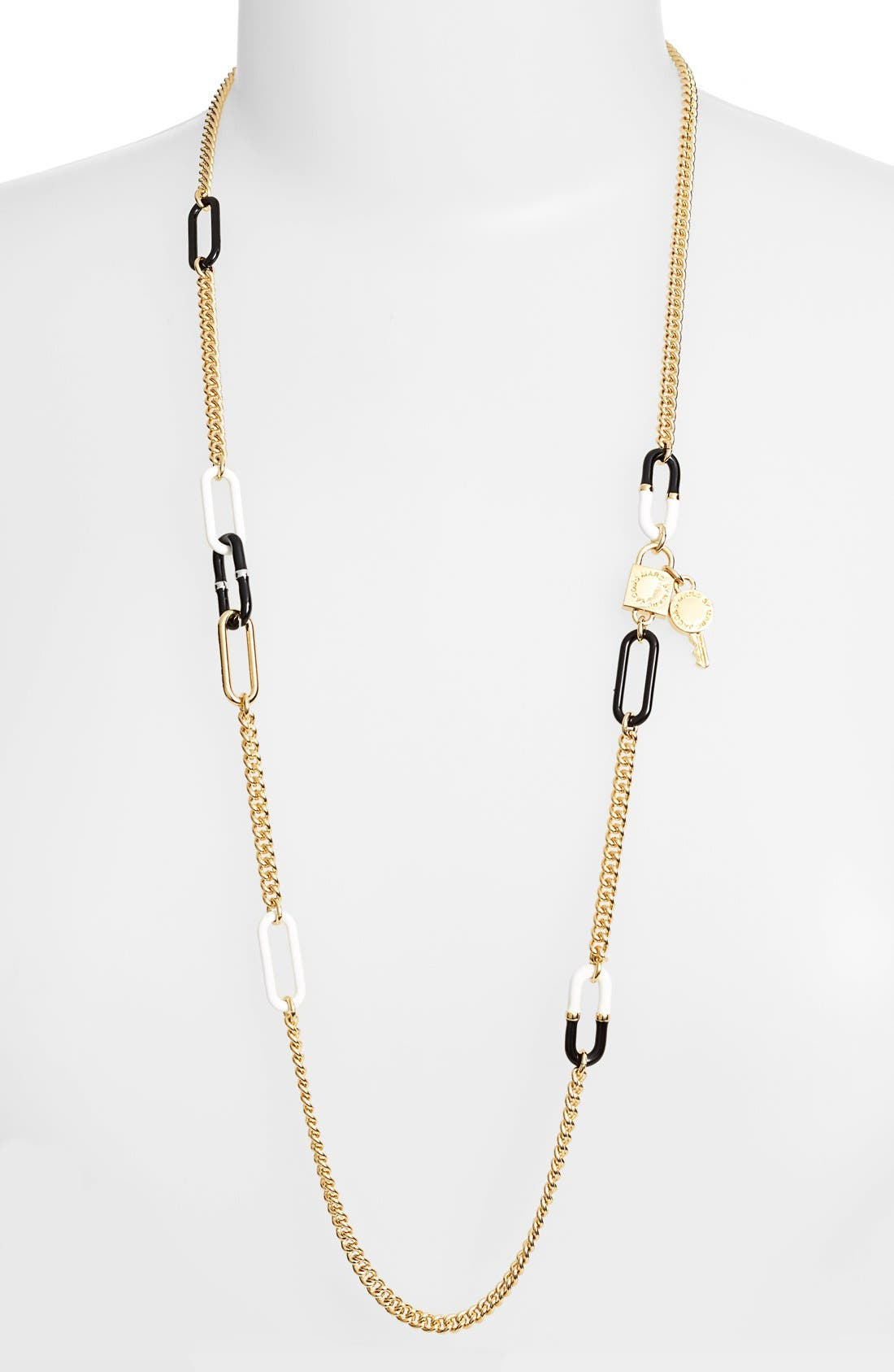 Alternate Image 1 Selected - MARC BY MARC JACOBS 'Ferus' Link Station Necklace