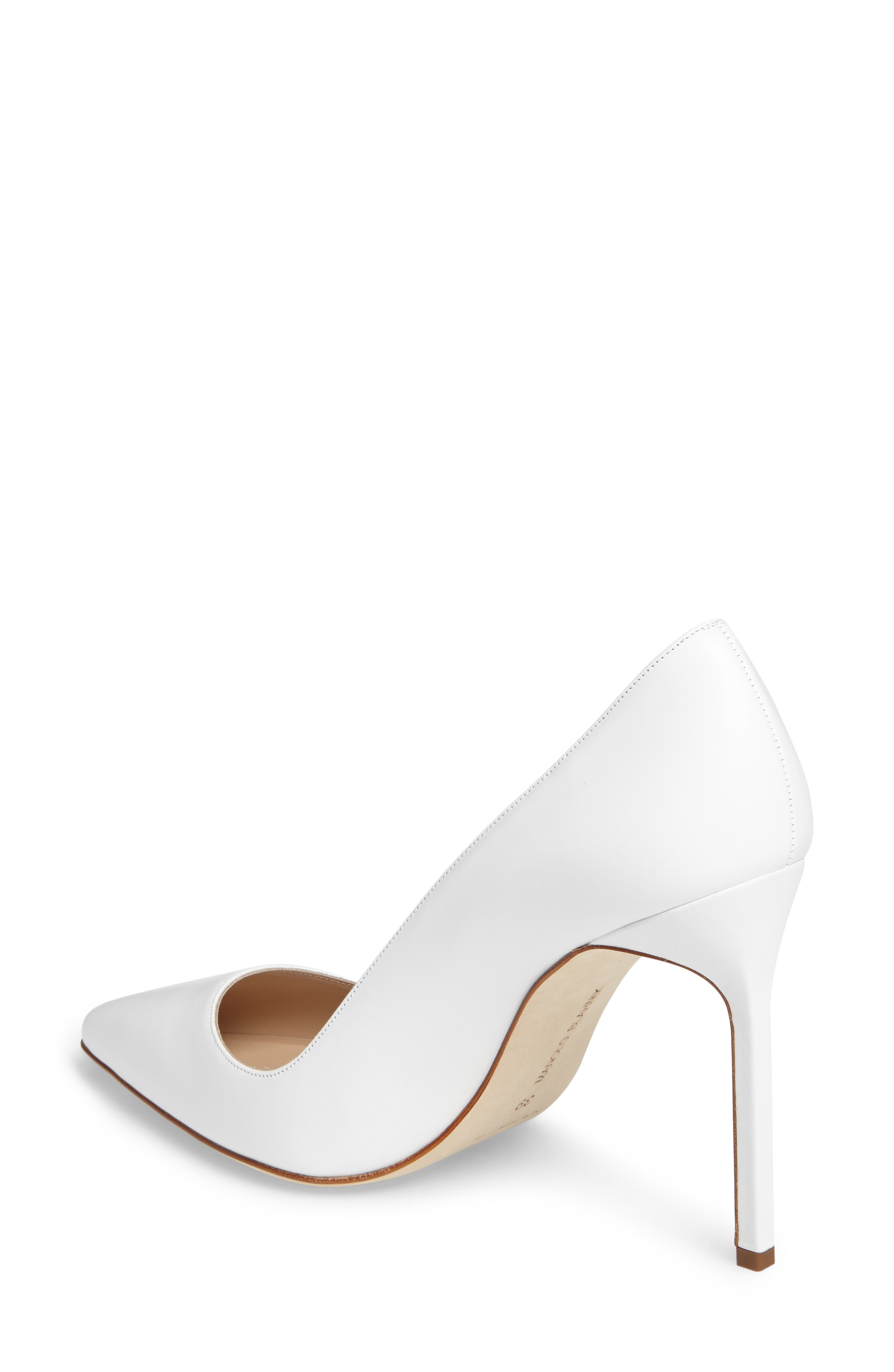Alternate Image 5  - Manolo Blahnik 'BB' Pointy Toe Pump (Women)