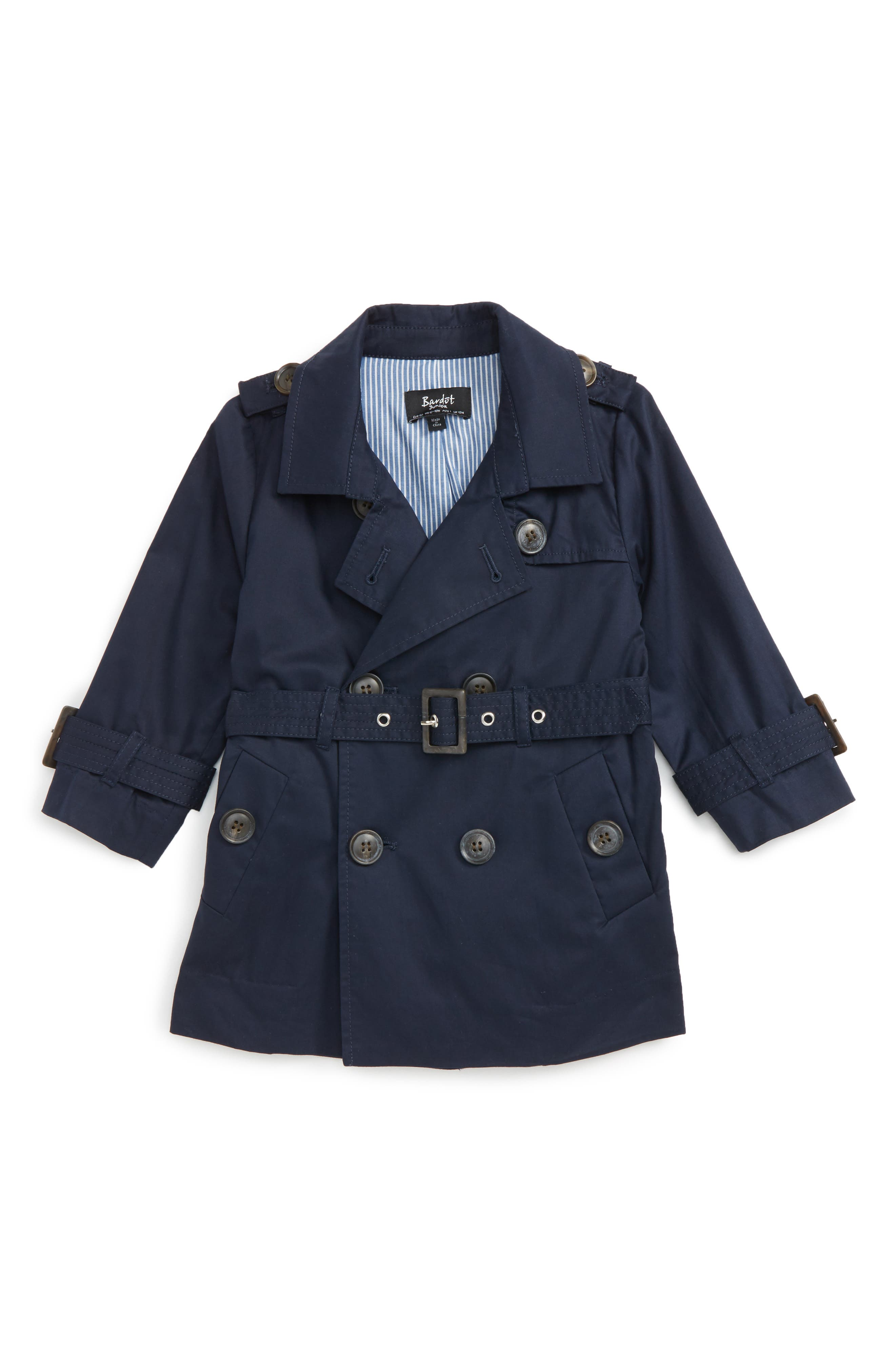 Bardot Junior Ryder Trench Coat (Baby Boys & Toddler Boys)