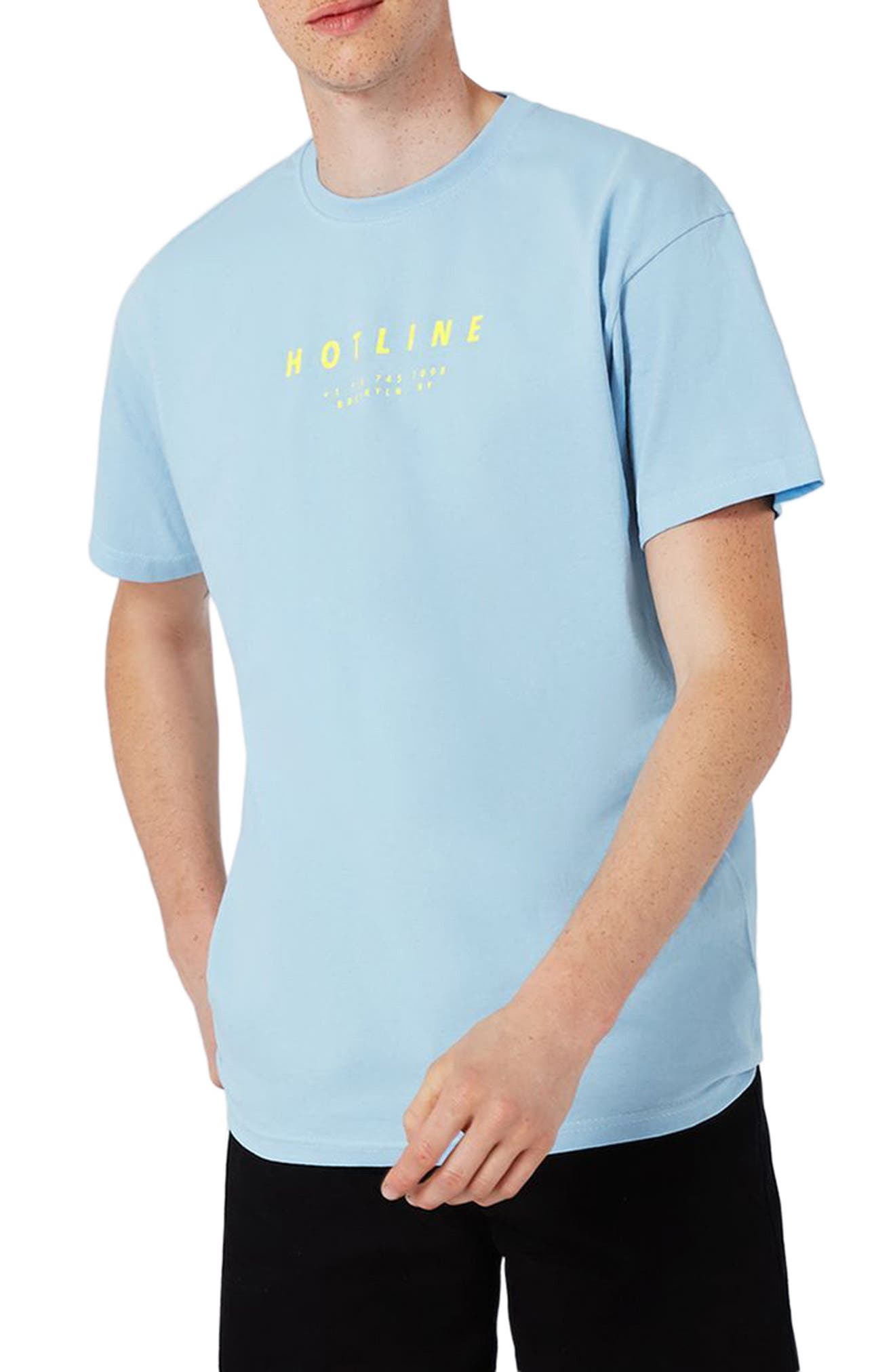 Topman Hotline Print T-Shirt