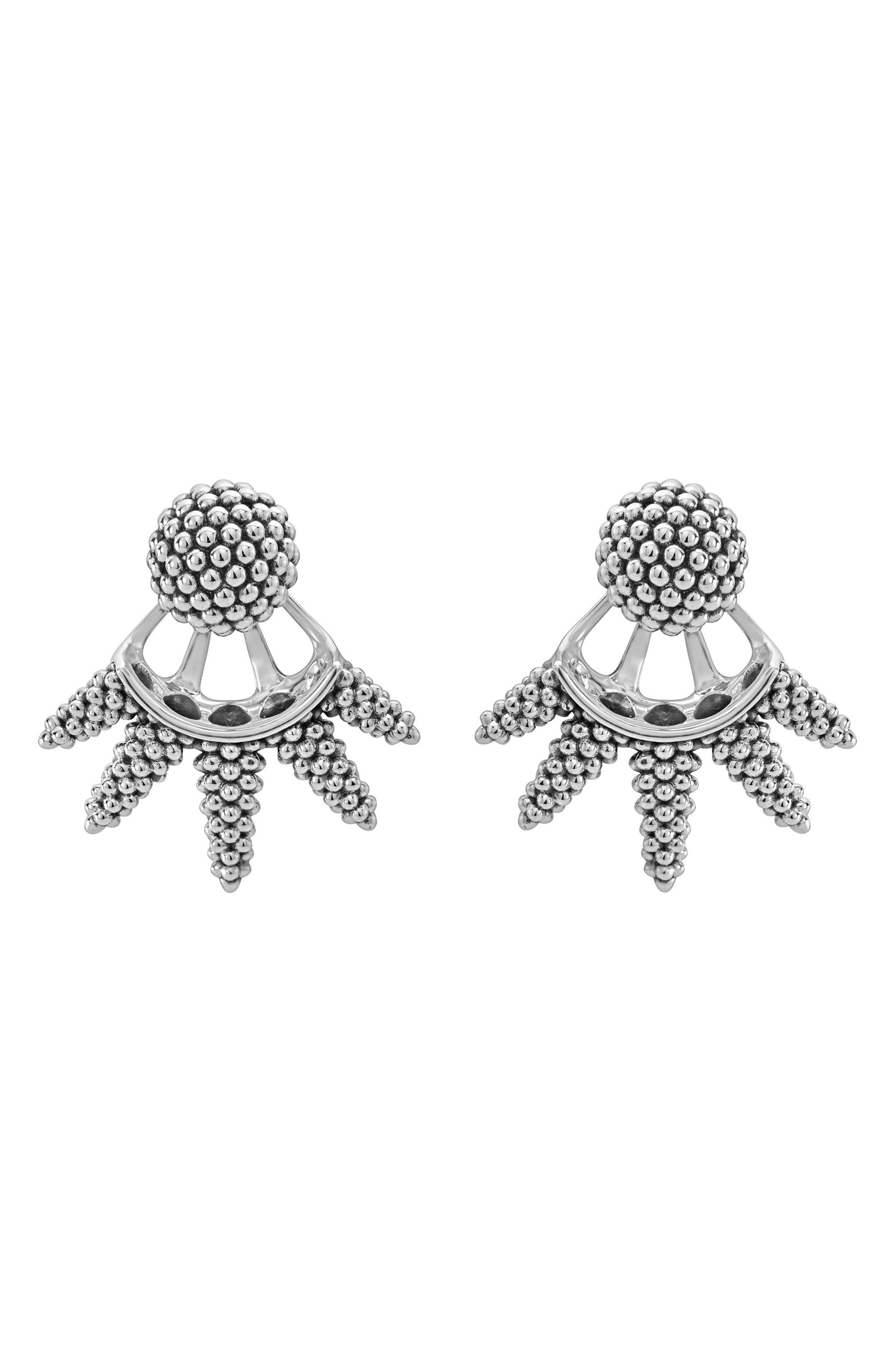 LAGOS Caviar Ball Ear Jackets
