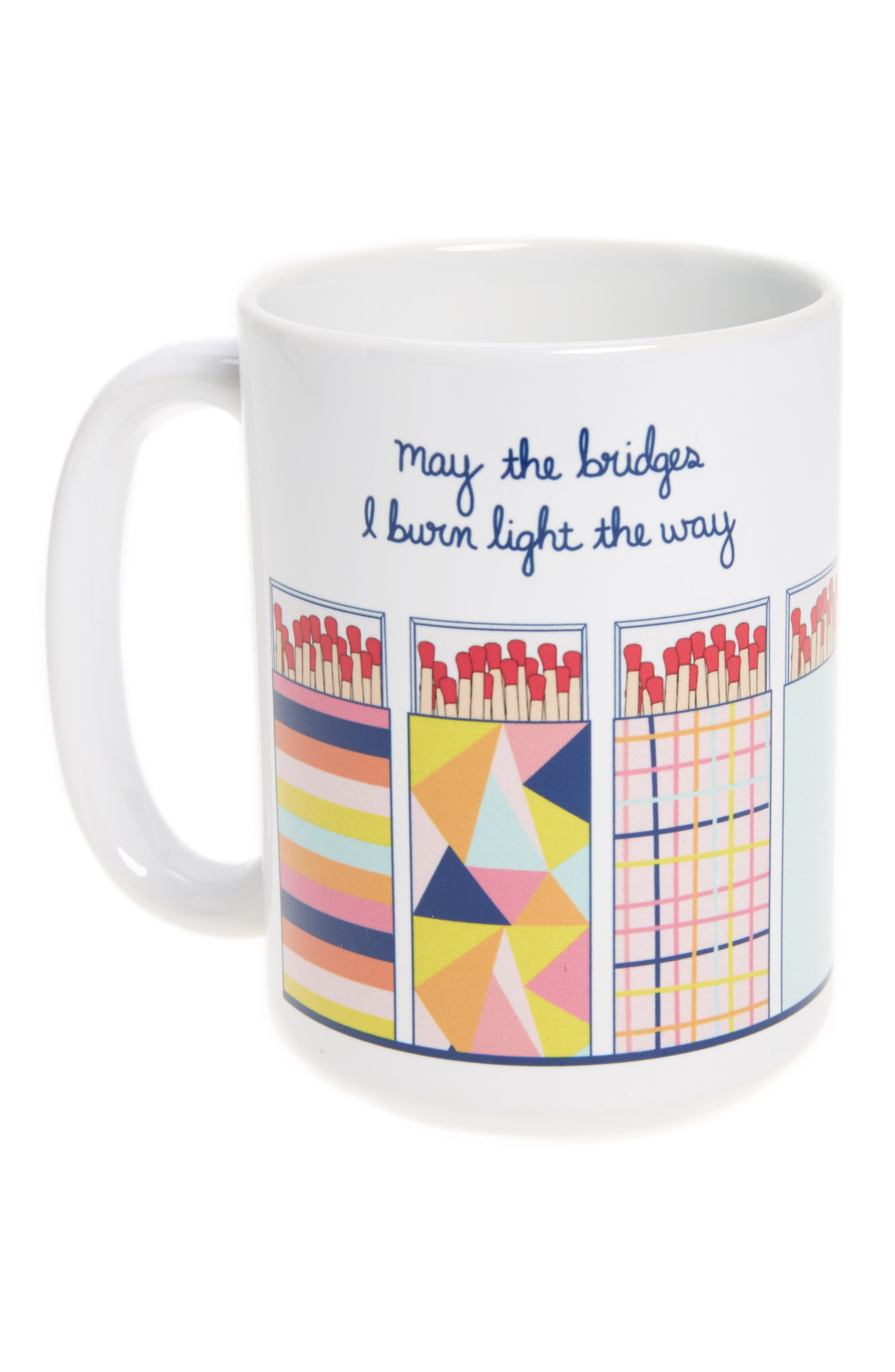 Toss Designs The Bridges I Burn Mug