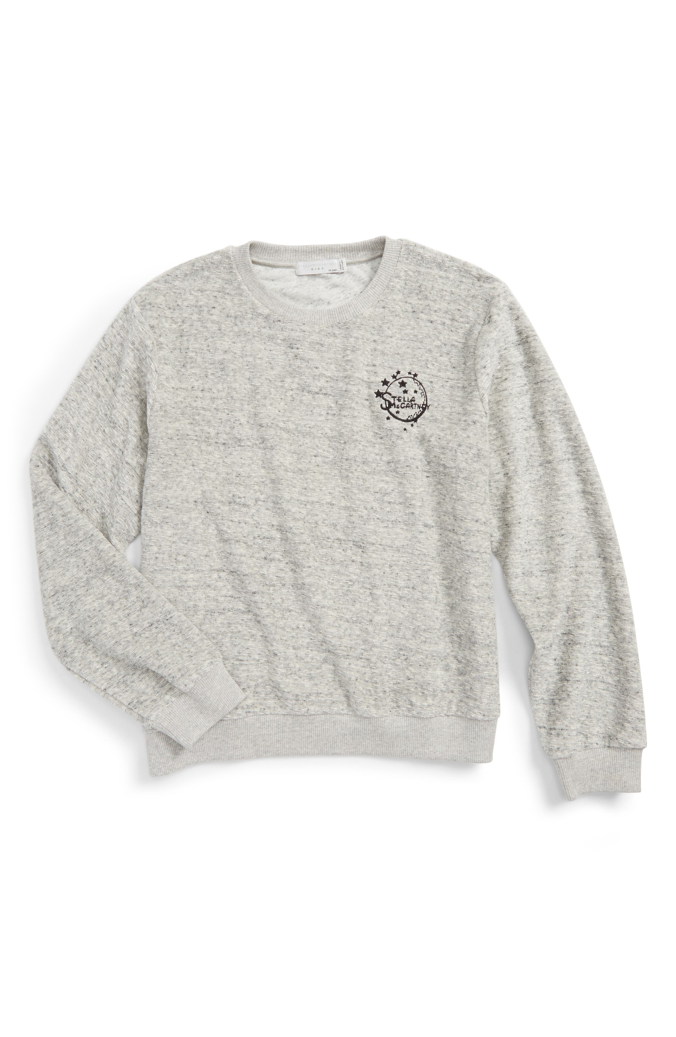Stella McCartney Kids Moon Sweatshirt (Little Girls & Big Girls)