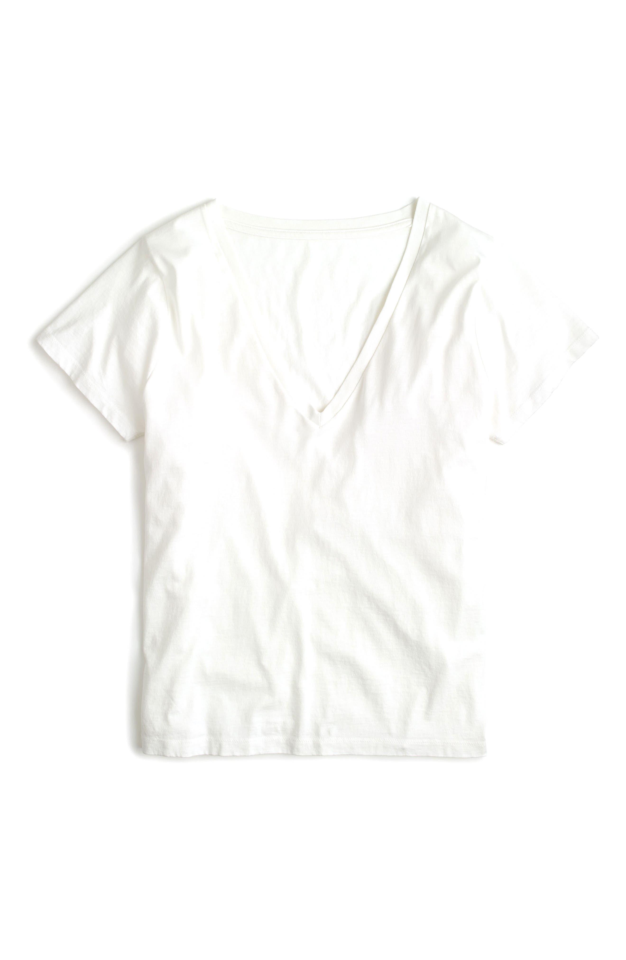 J.Crew Supima® Cotton V-Neck Tee