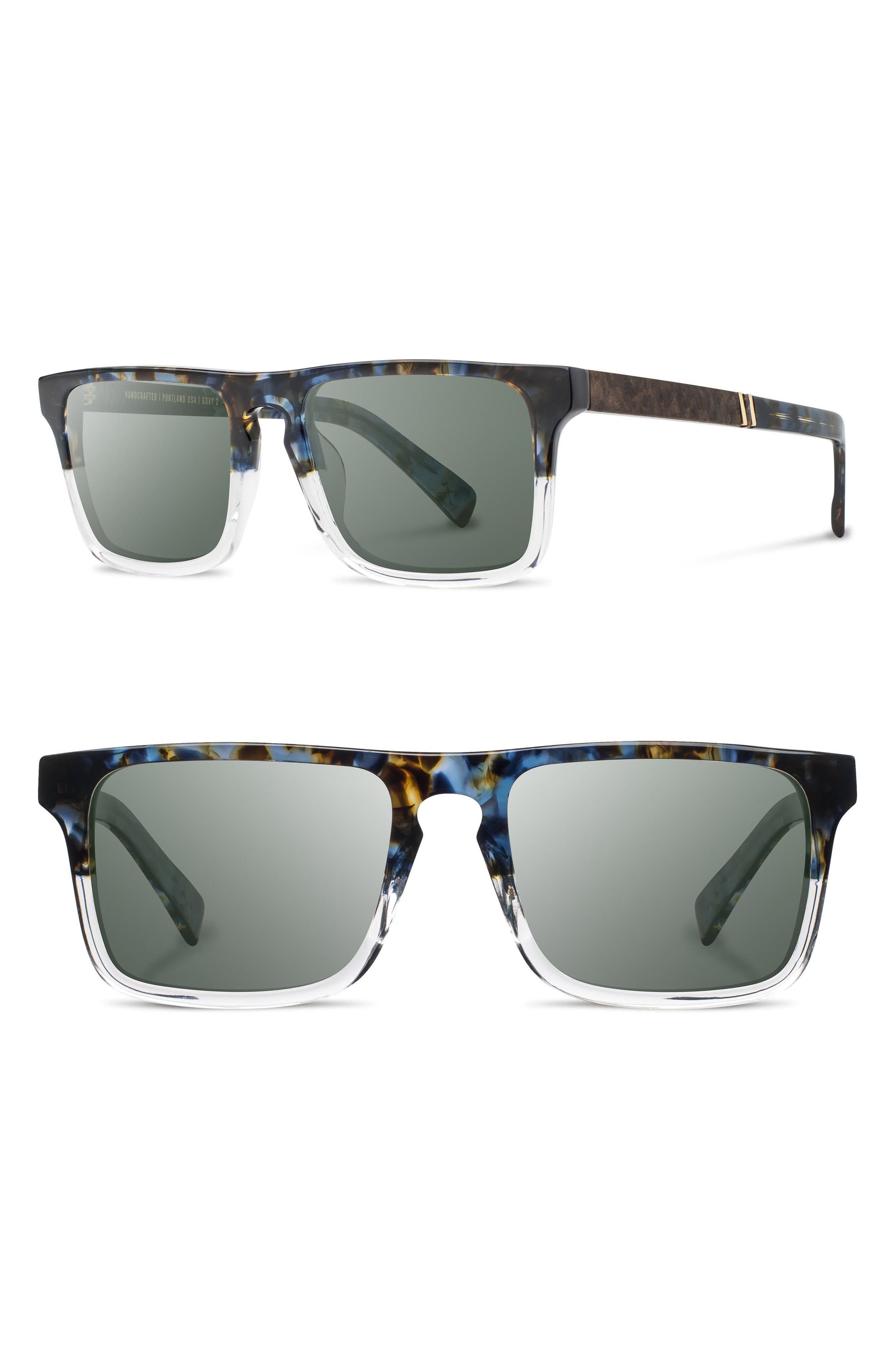 Shwood 'Govy 2' 52mm Polarized Sunglasses
