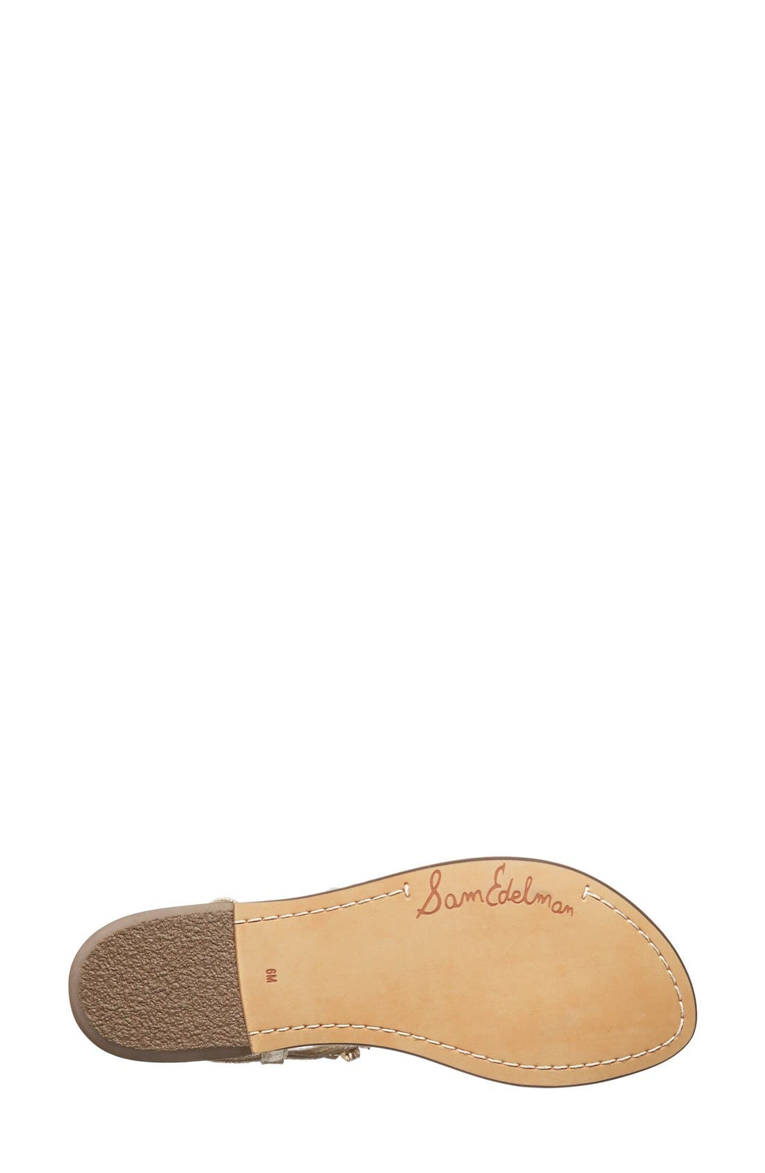 Alternate Image 4  - Sam Edelman 'Dayton' Embellished Sandal (Women)