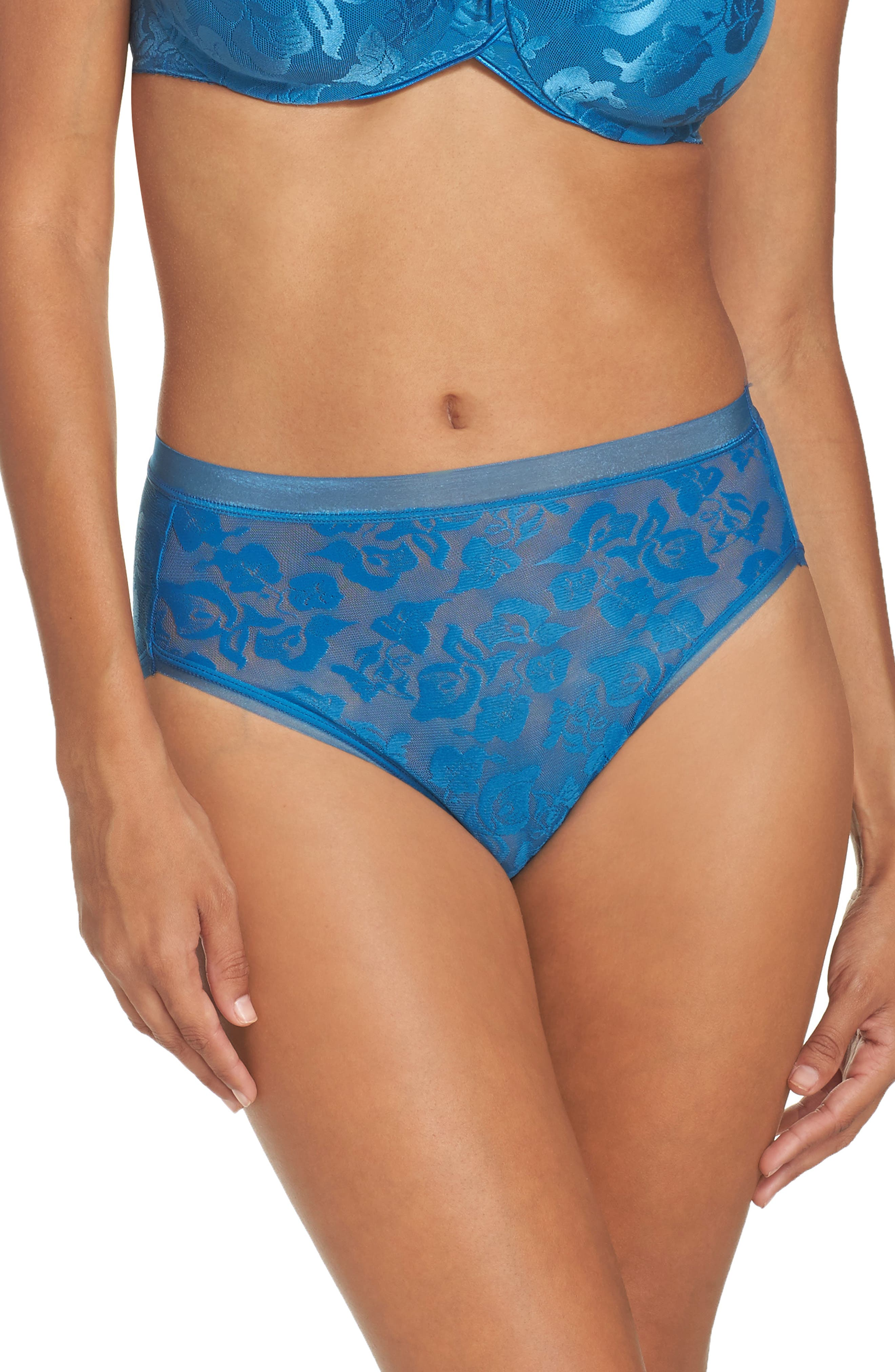 Wacoal 'Awareness' High Cut Briefs (3 for $39)