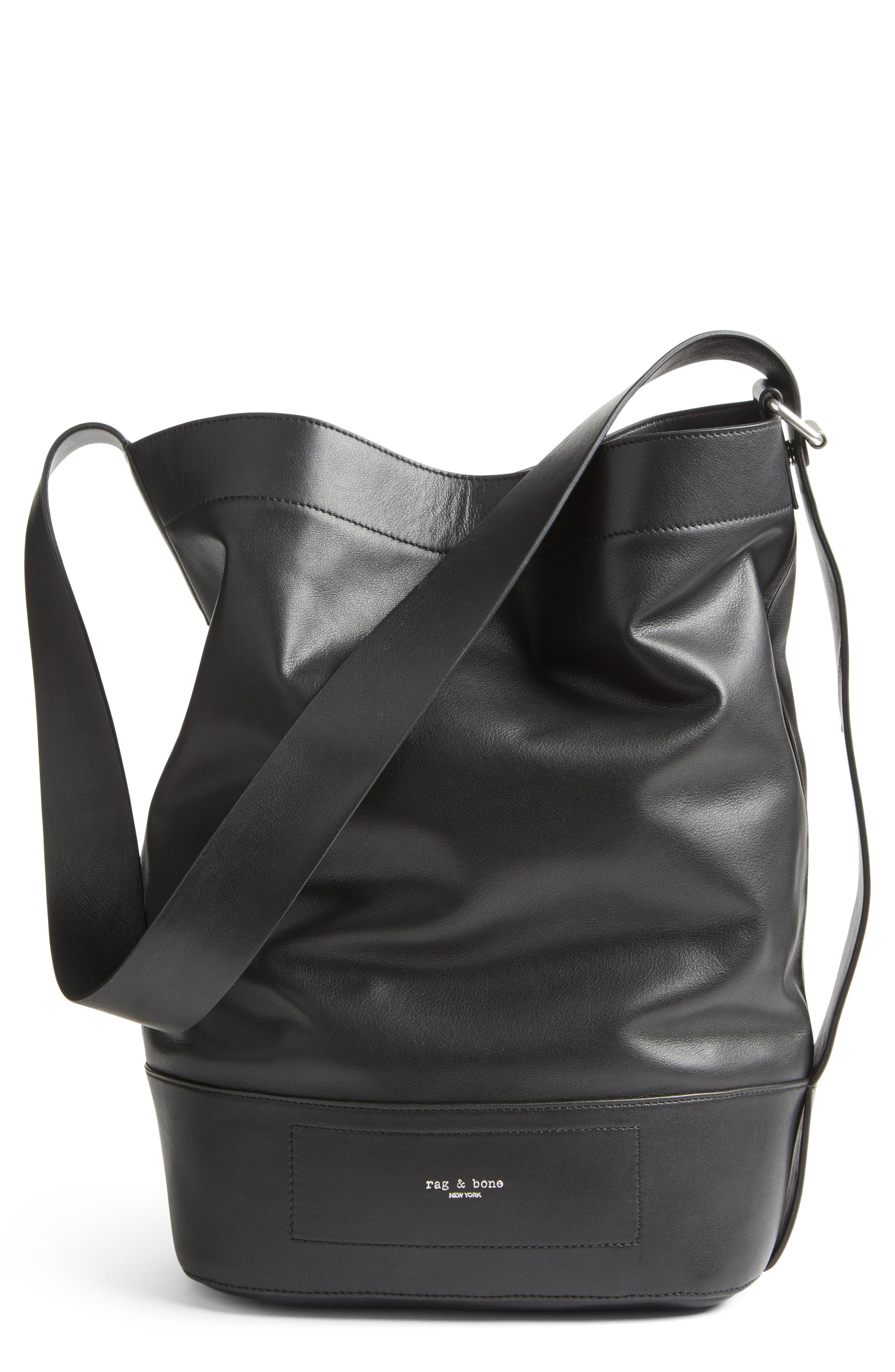 rag & bone Walker Sling Leather Bucket Bag