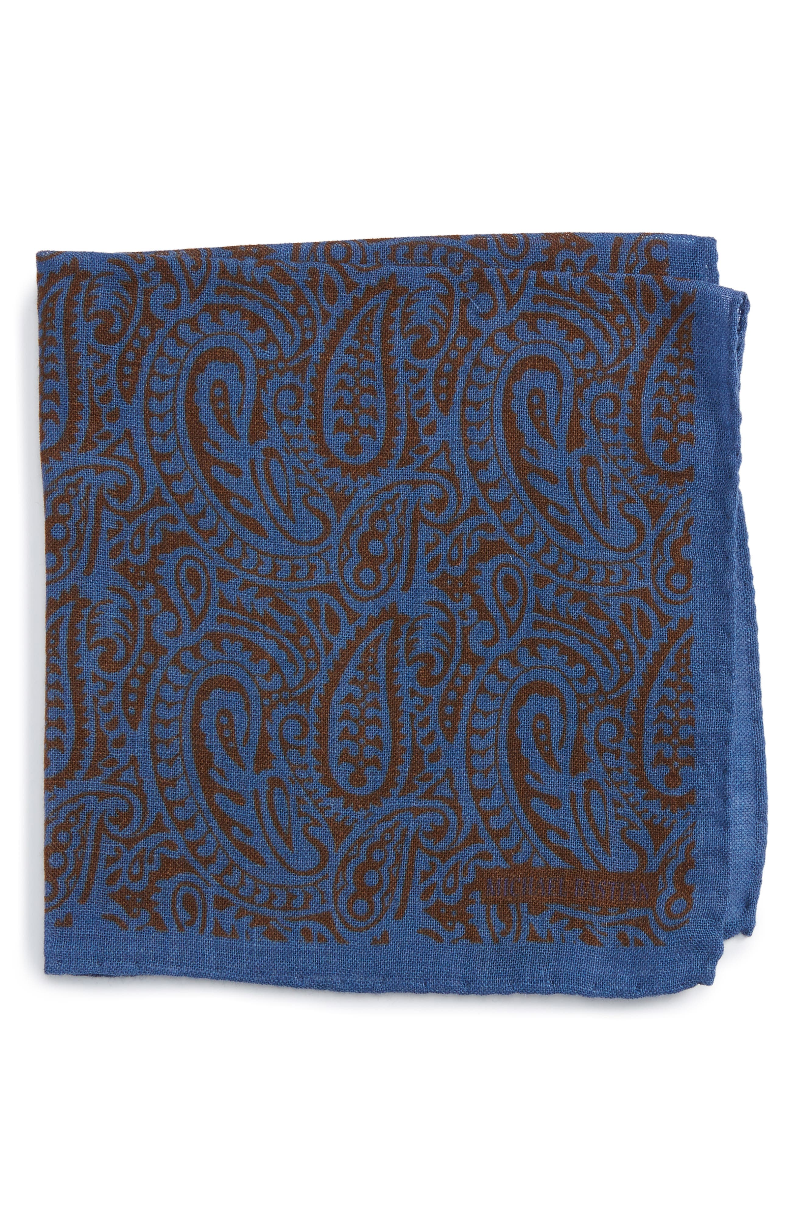 Michael Bastian Paisley Pocket Square