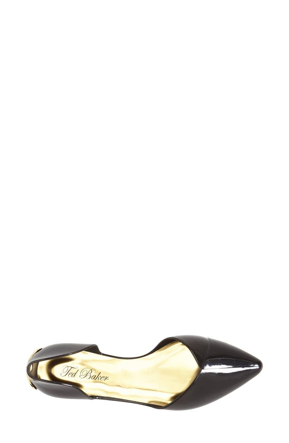 Alternate Image 3  - Ted Baker London 'Dawfodyl' Pointy Toe Flat (Women)