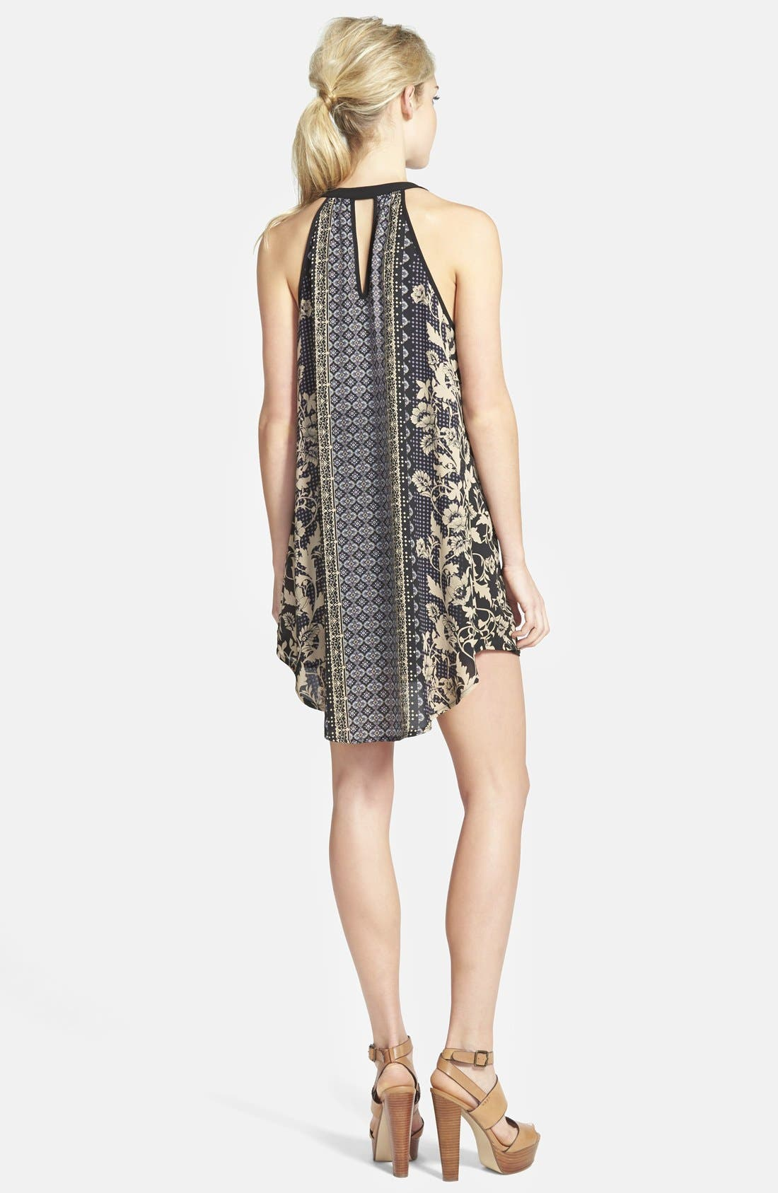 Alternate Image 2  - ASTR Tassel Sleeveless Shift Dress
