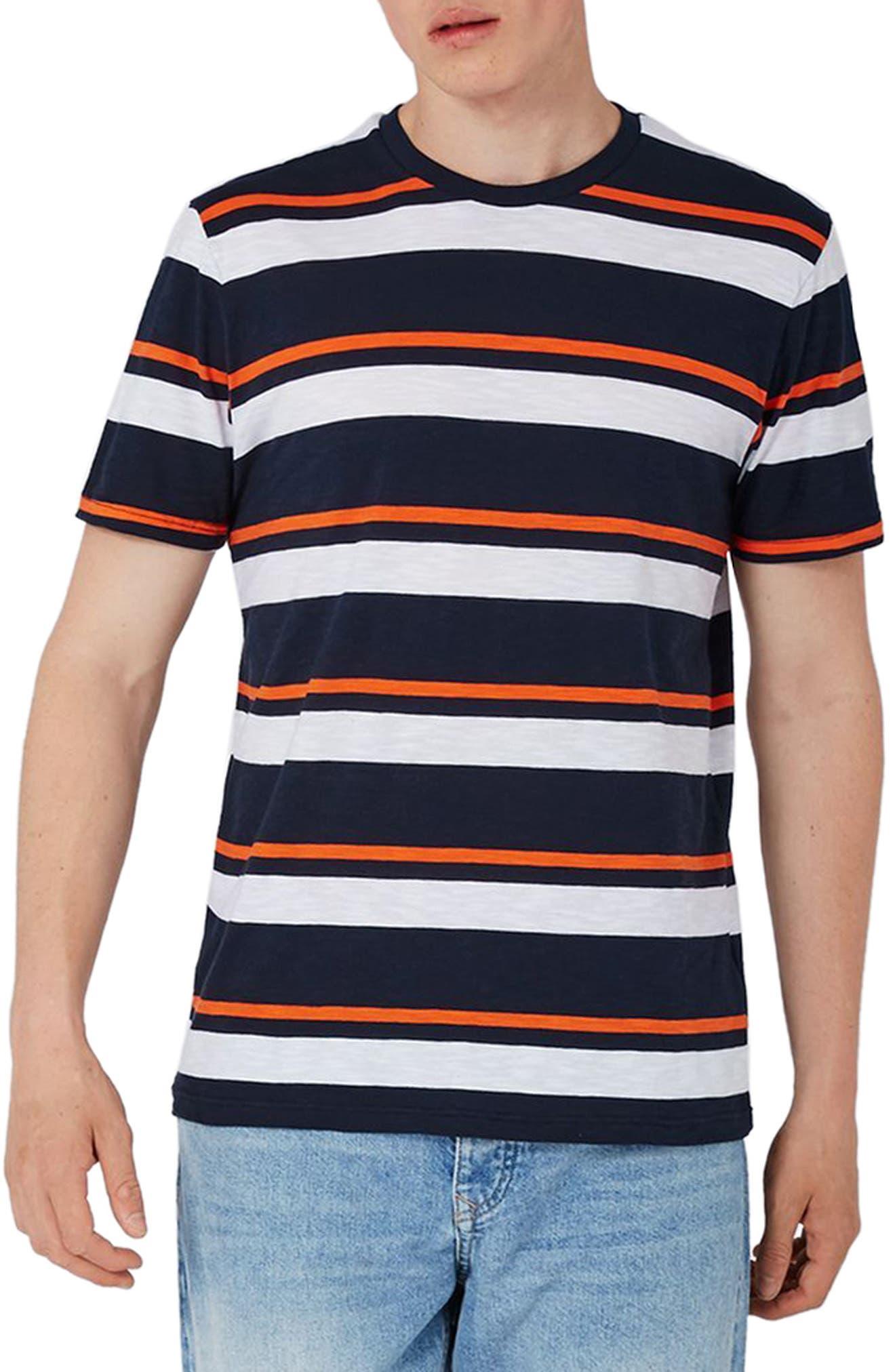 Topman Double Stripe T-Shirt