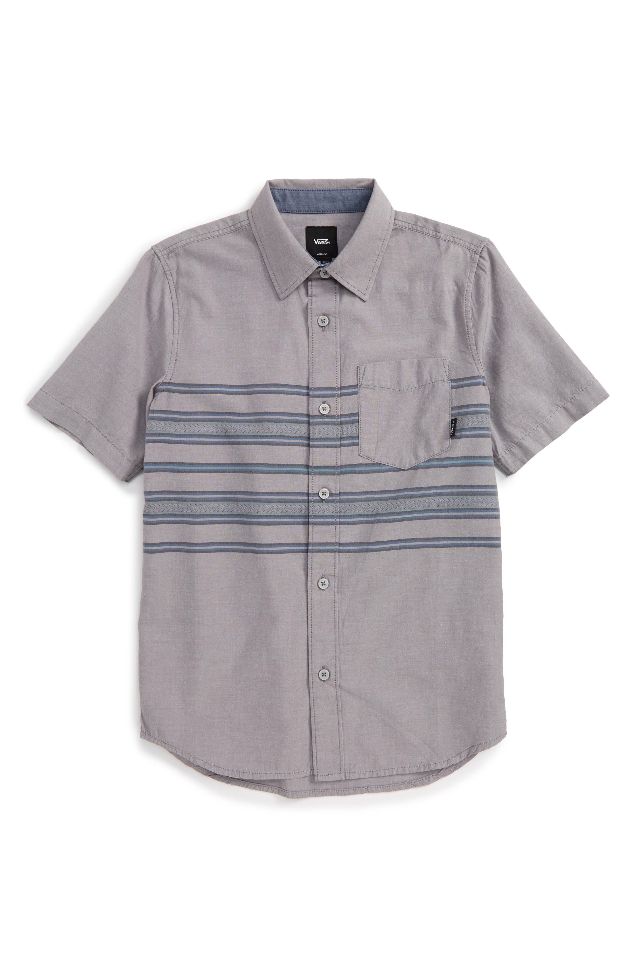 Vans Benmore Woven Shirt (Big Boys)