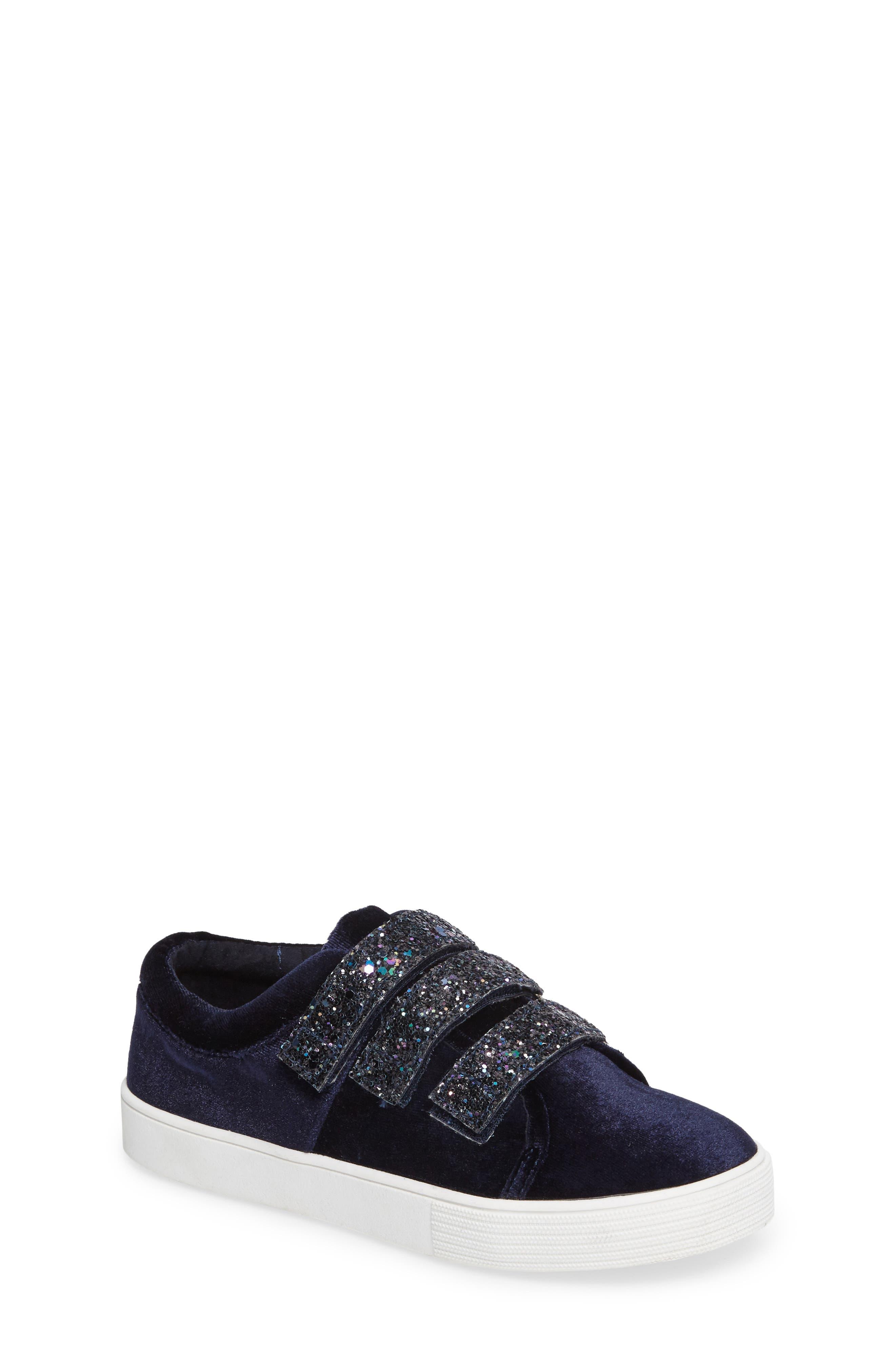 Kenneth Cole New York Kam Glitter Strap Sneaker (Toddler, Little Kid & Big Kid)