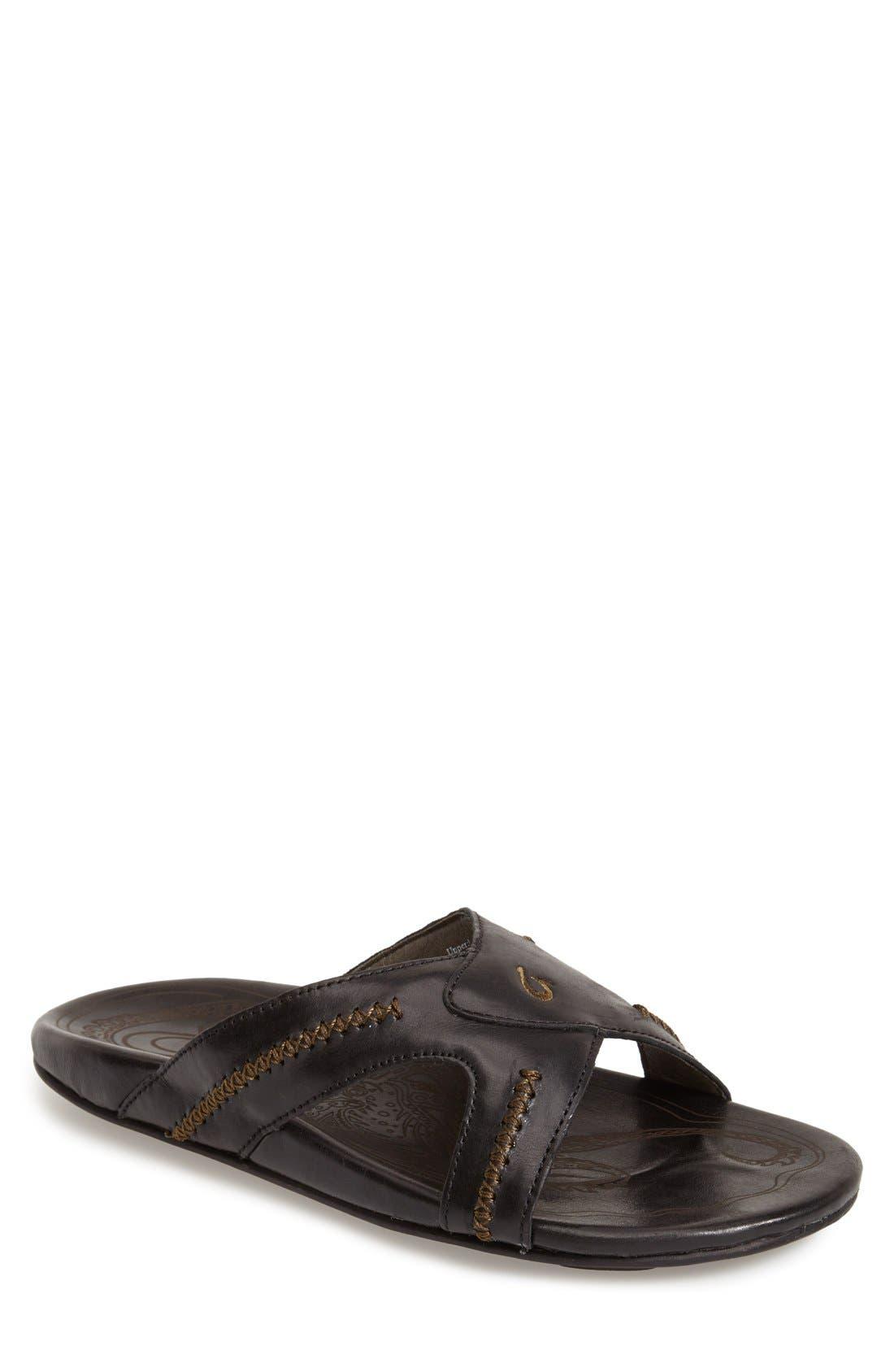 OluKai 'Mea Ola' Slide Sandal (Men)