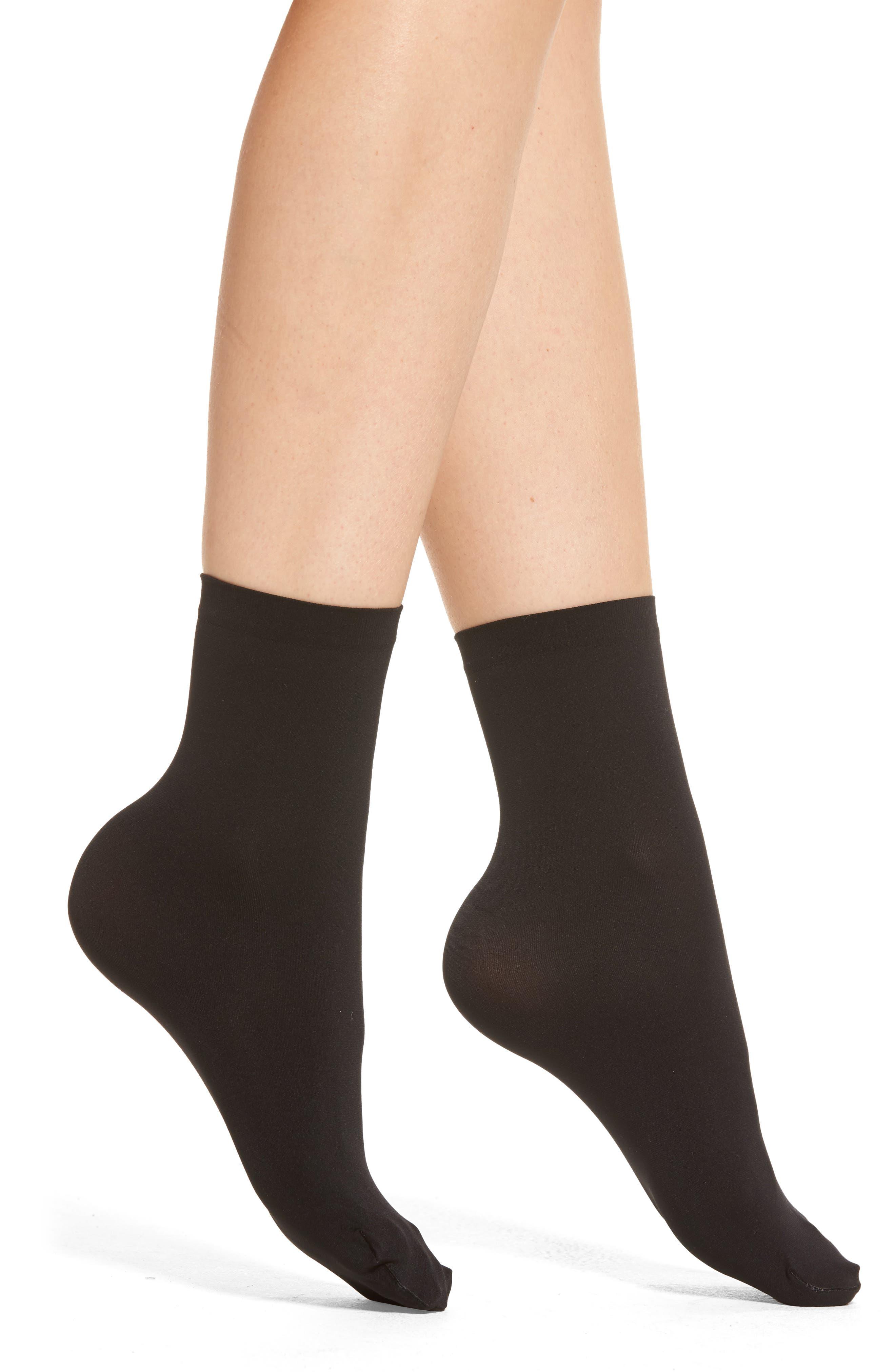Wolford Velvet 66 Trouser Socks