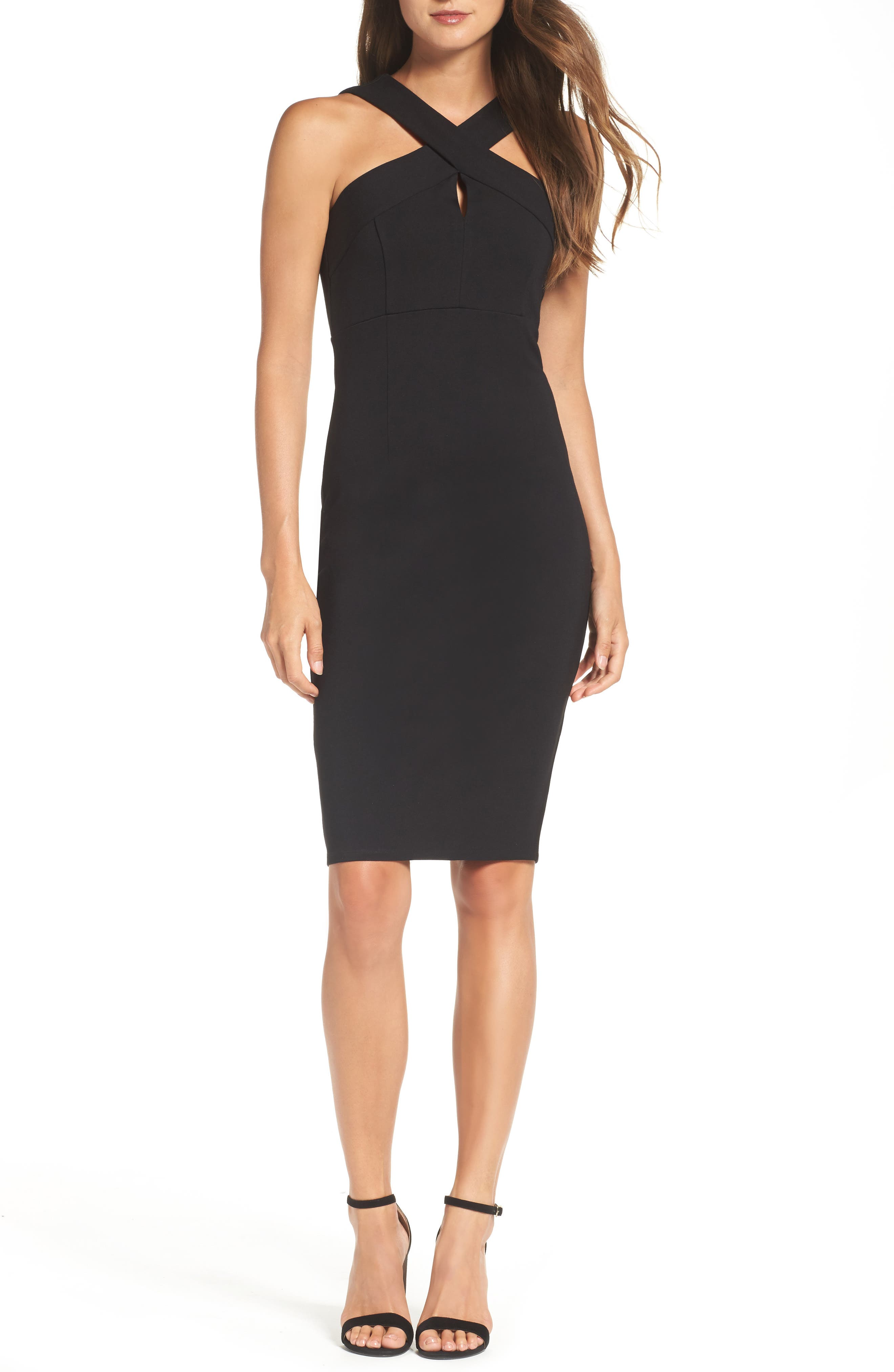 Felicity & Coco Maria Ponte Sheath Dress (Nordstrom Exclusive)