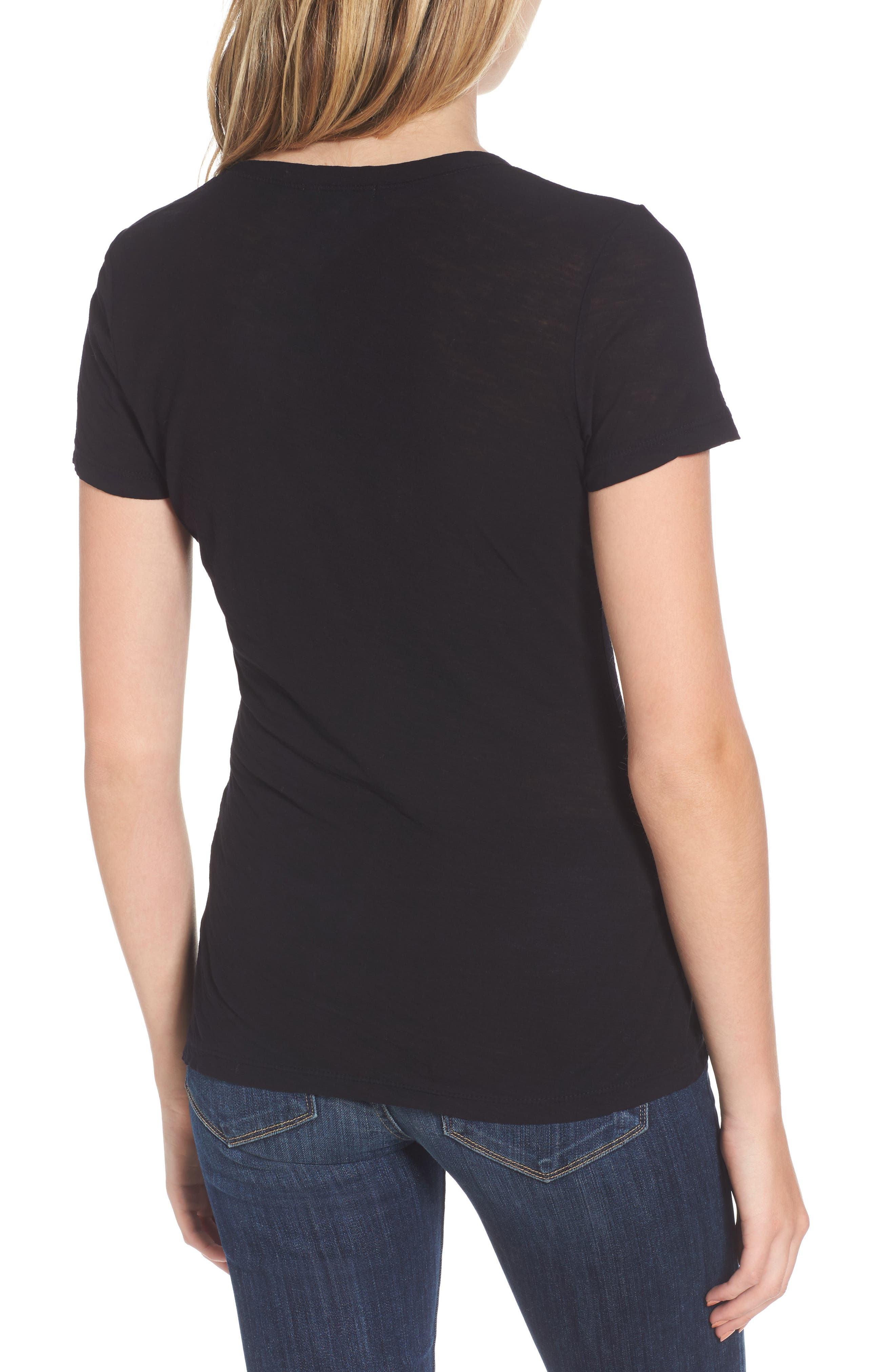 Alternate Image 2  - James Perse Slub Cotton V-Neck Tee