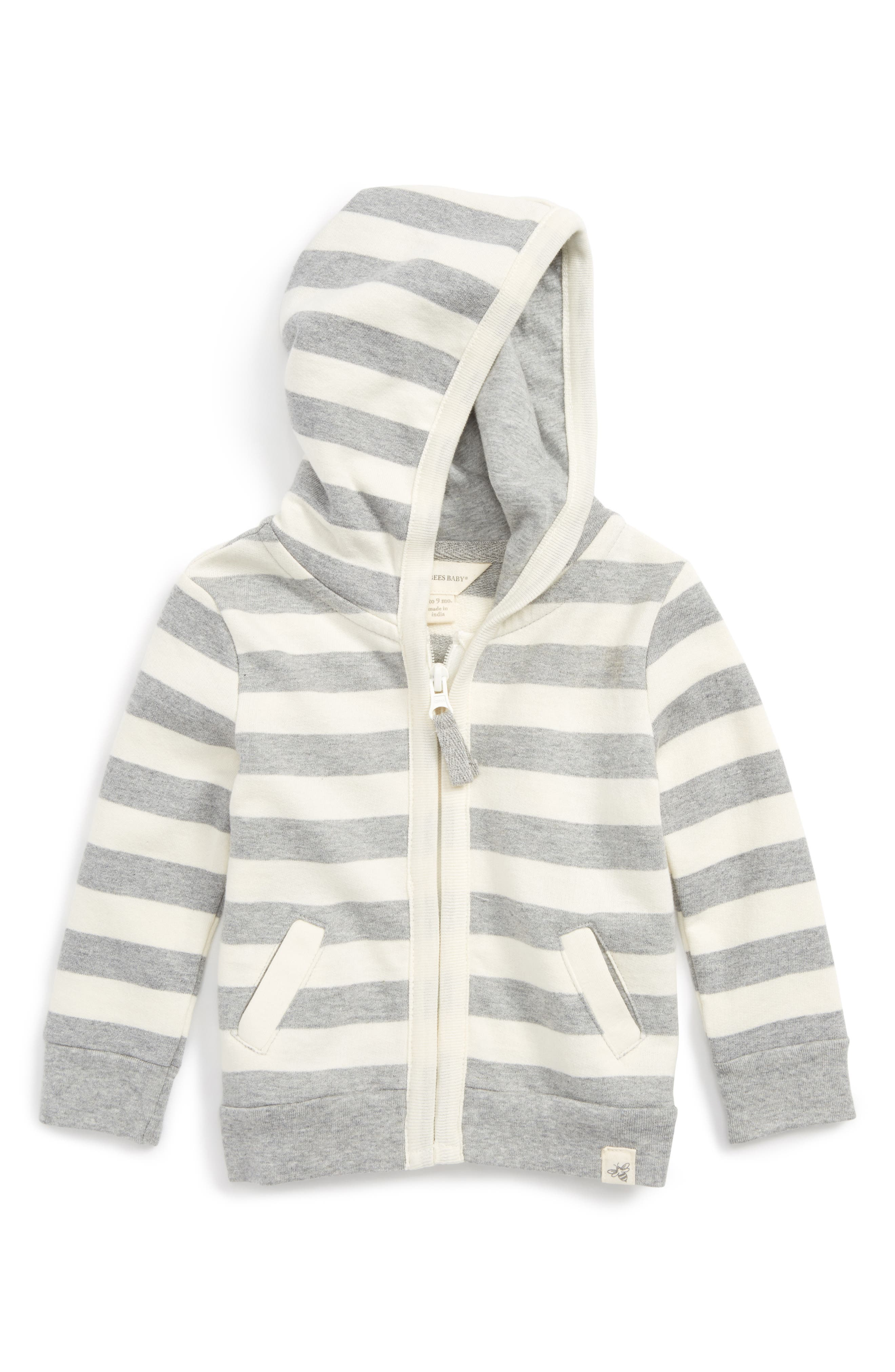 Burt's Bees French Terry Organic Cotton Hoodie (Baby)