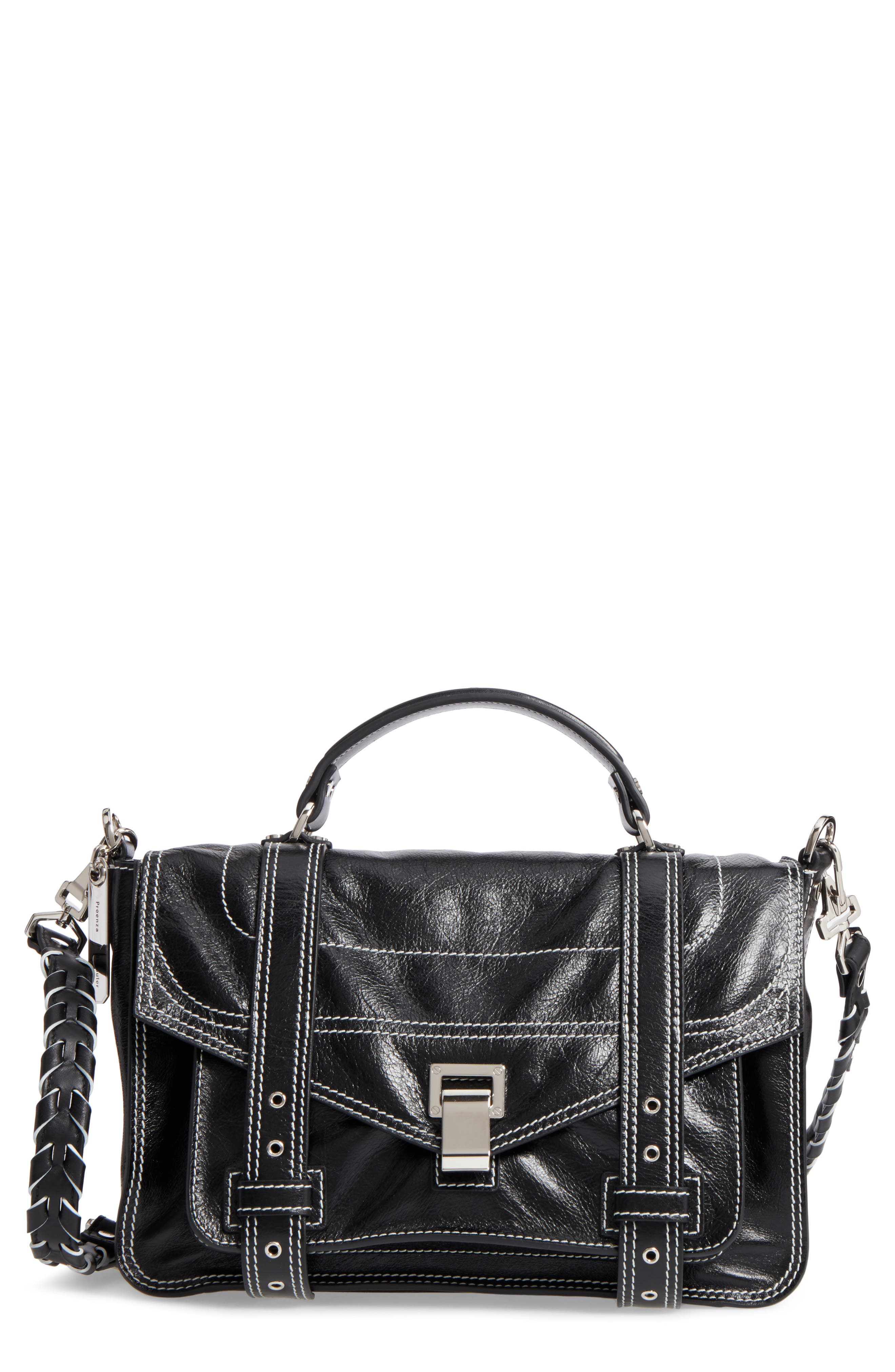 Proenza Schouler Medium PS1 Calfskin Leather Satchel