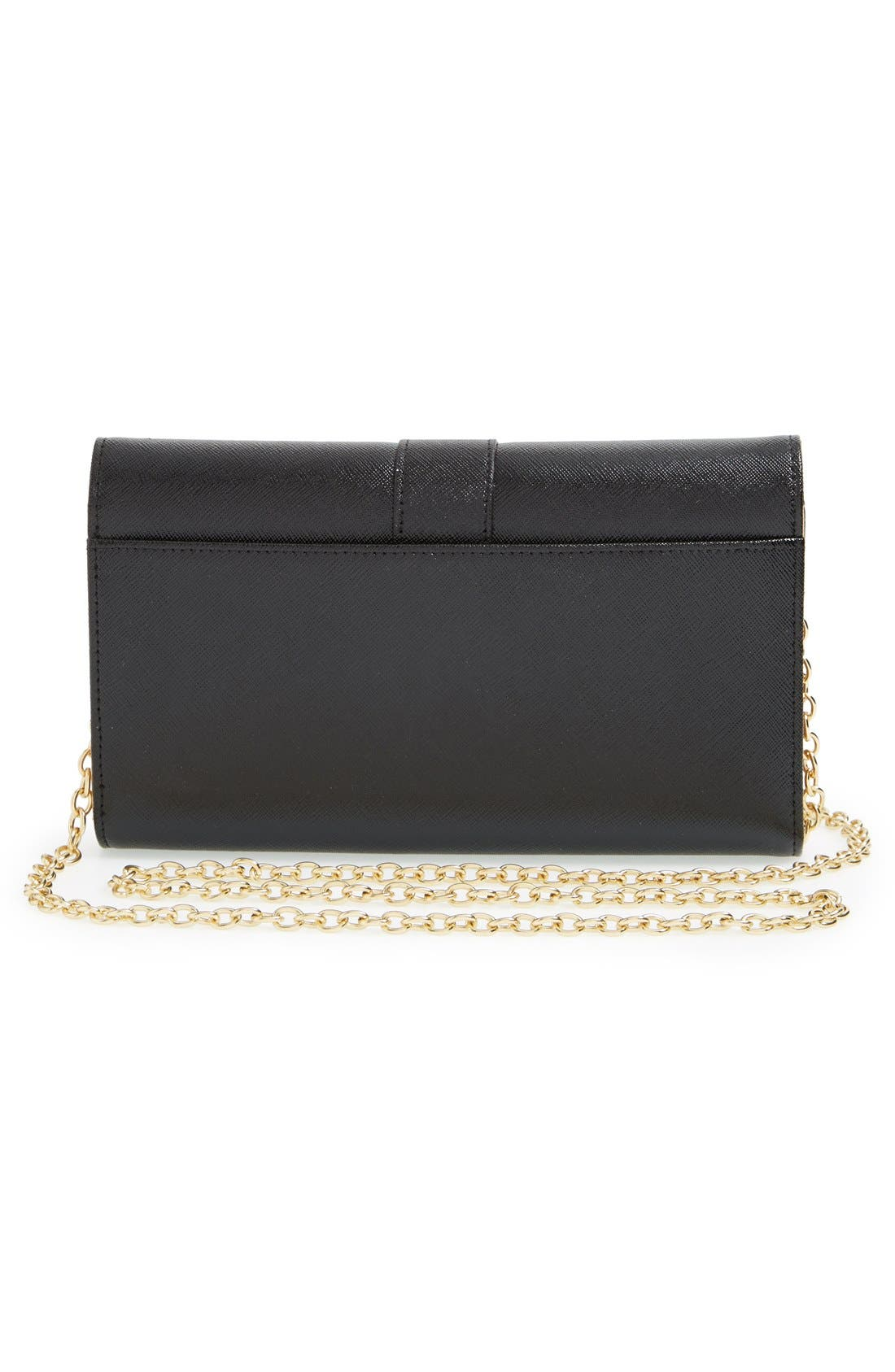 Alternate Image 3  - Halogen® Leather Wallet on a Chain Crossbody