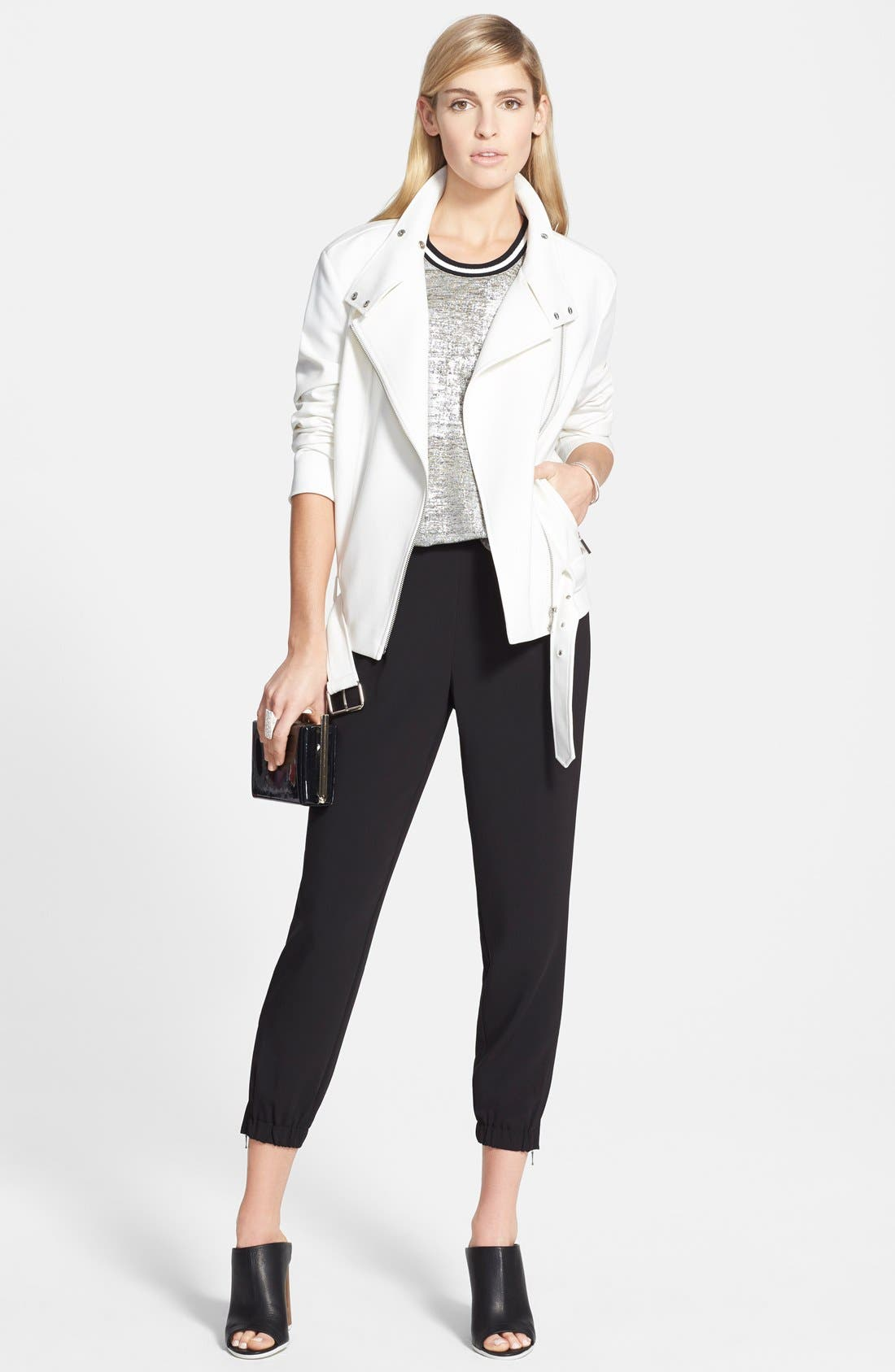 Alternate Image 4  - Trouvé Elastic Cuff Pleated Pants