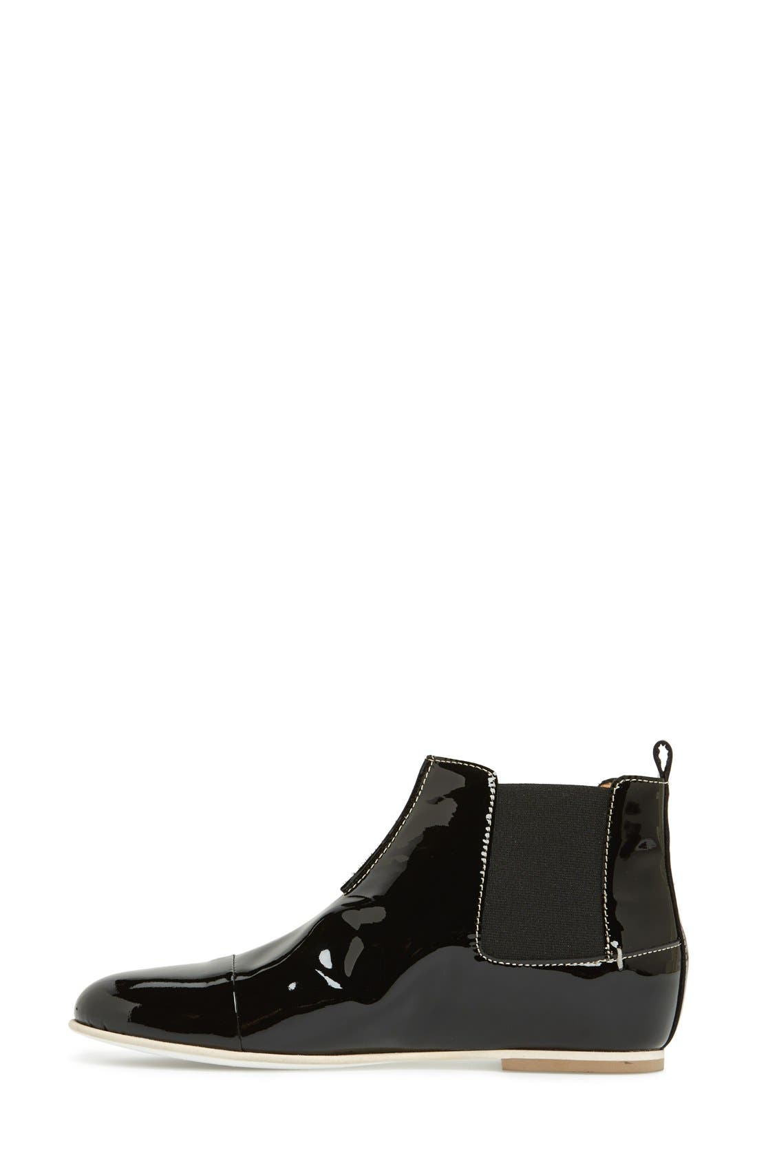 Alternate Image 6  - Aquatalia by Marvin K. 'Chime' Weatherproof Patent Leather Chelsea Boot (Women)