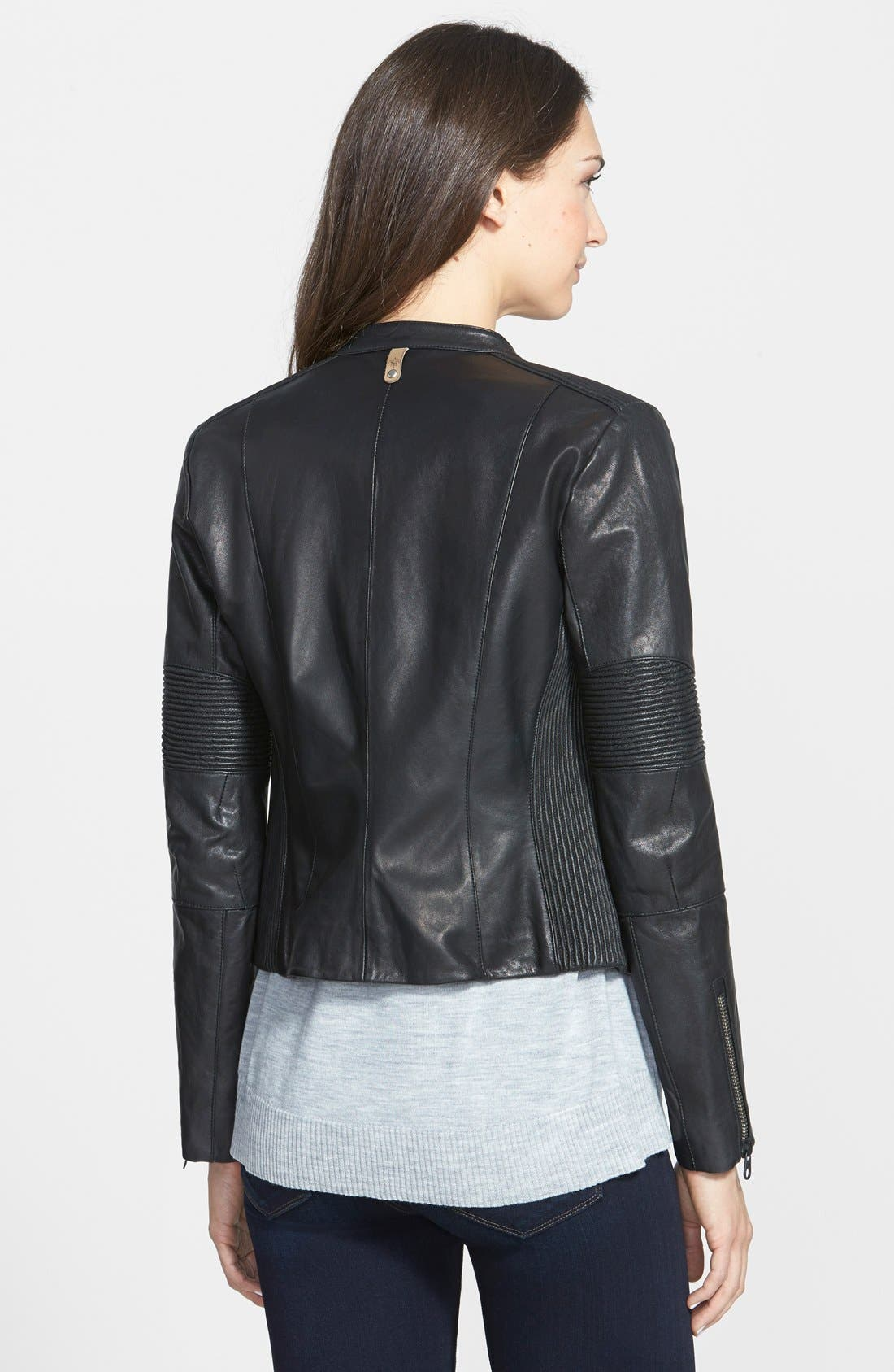 Alternate Image 2  - Mackage Leather Moto Jacket