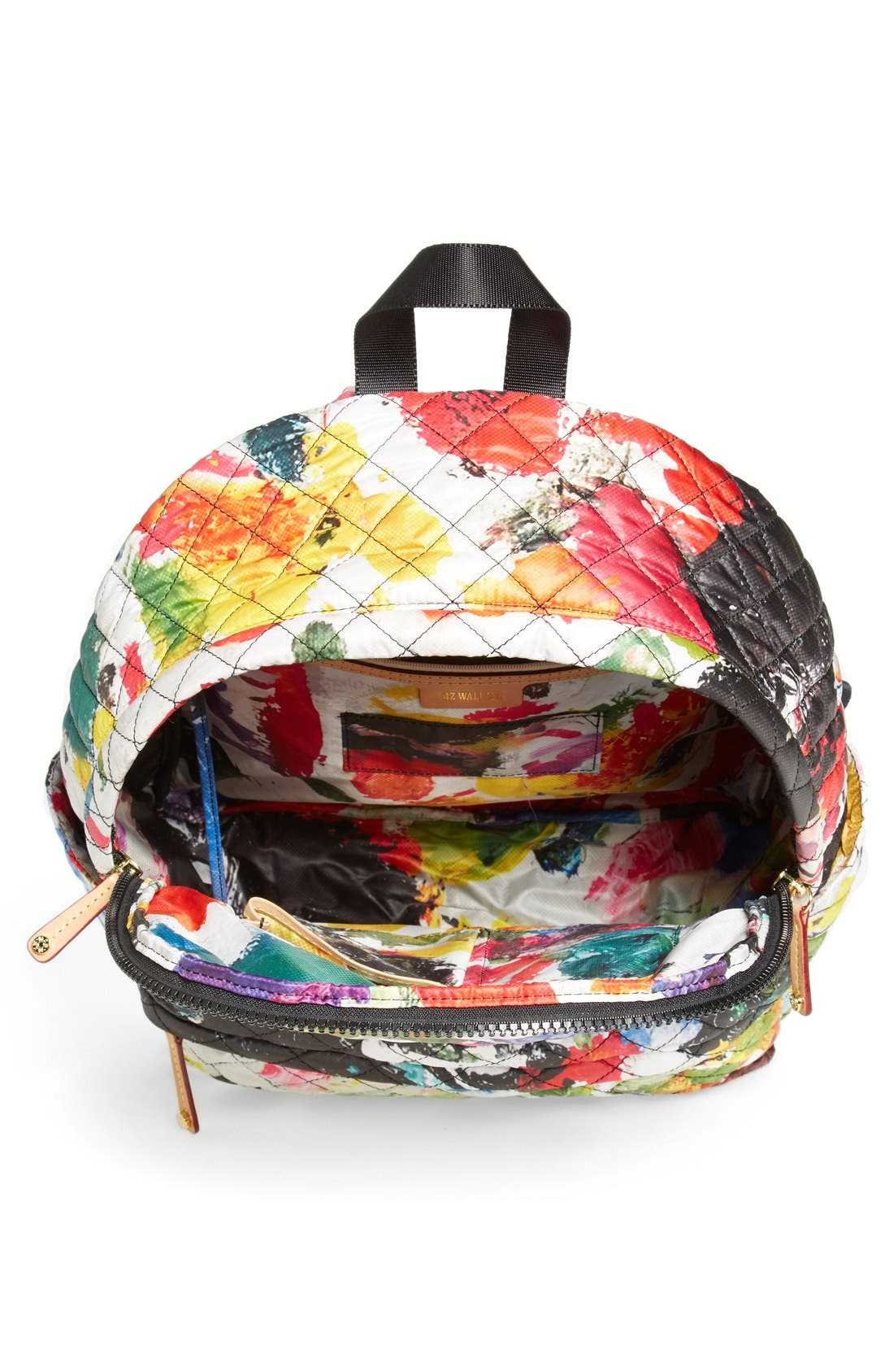 Alternate Image 4  - MZ Wallace 'Metro' Quilted Oxford Nylon Backpack